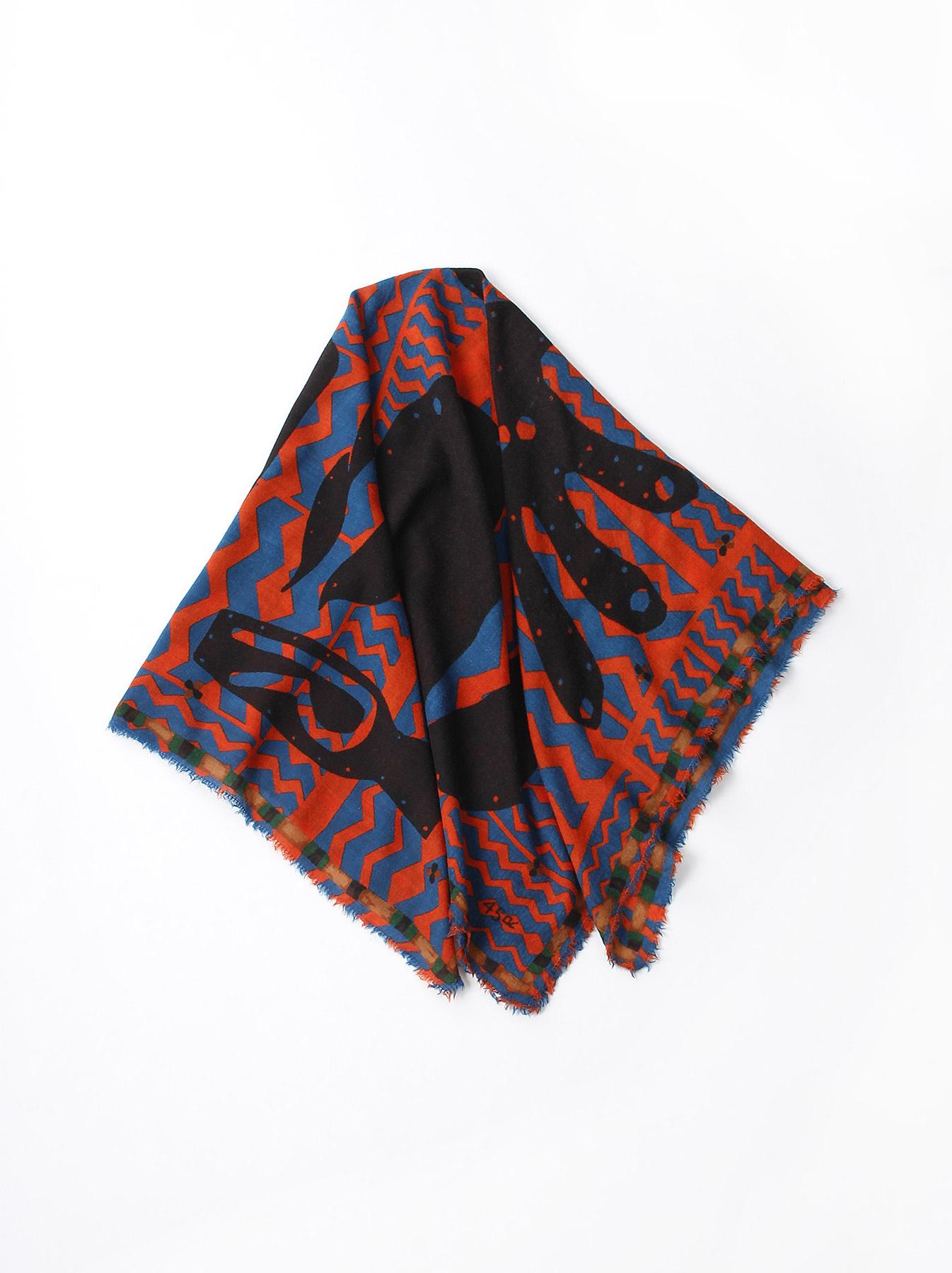 Wool Printed Furoshikii-1