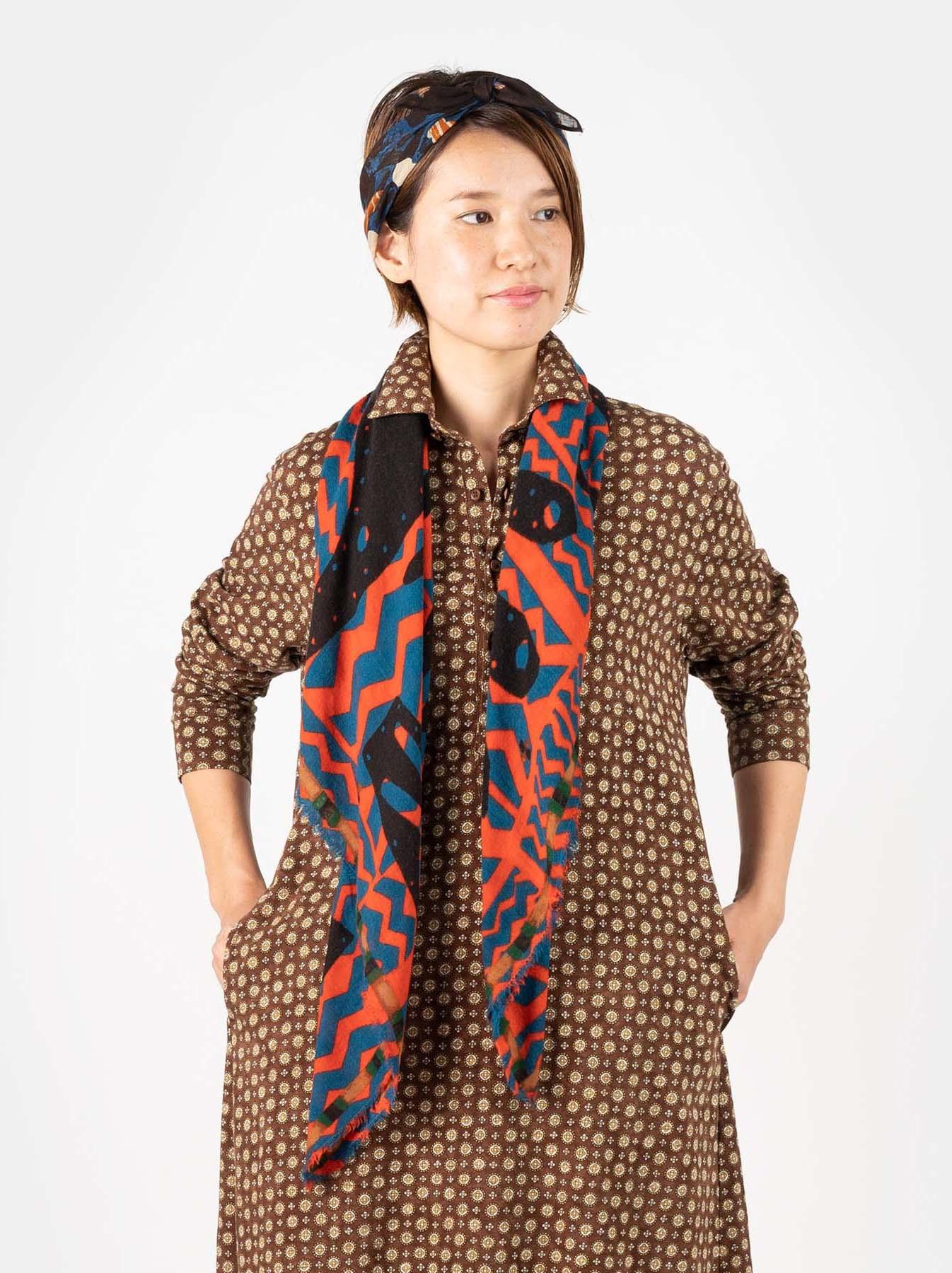 Wool Printed Furoshikii-2