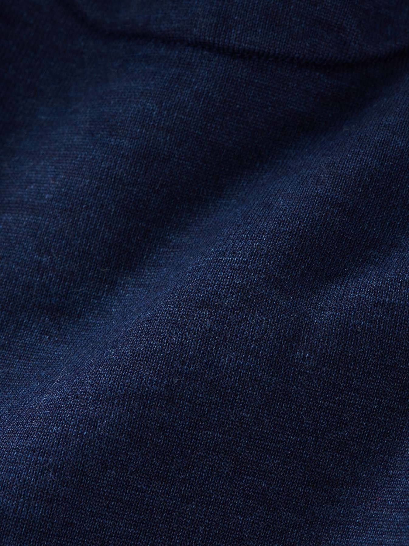 WH Indigo Mouton Fleecy 908 Hoodie Coat-11