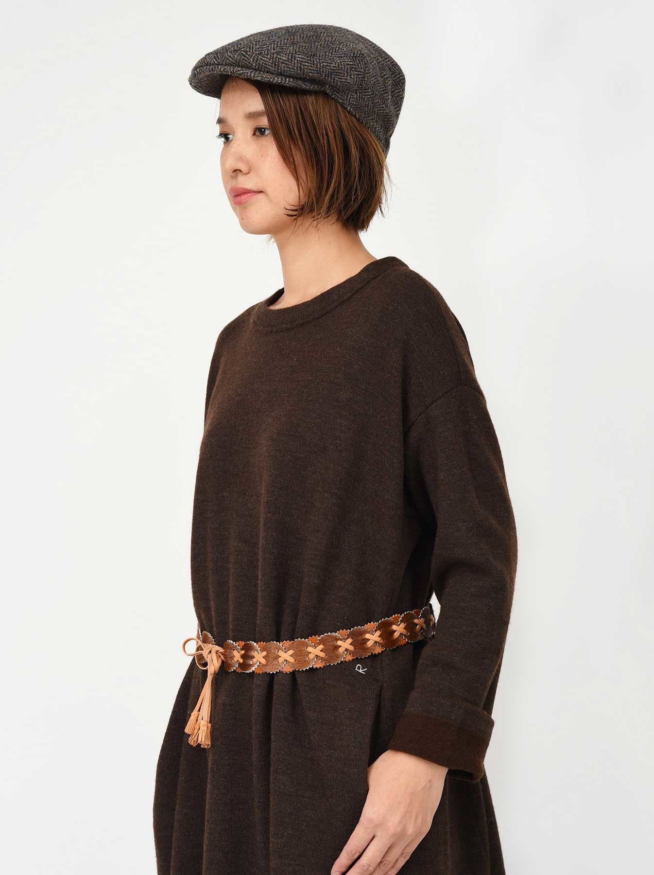 WH Leather Patchwork Belt-2
