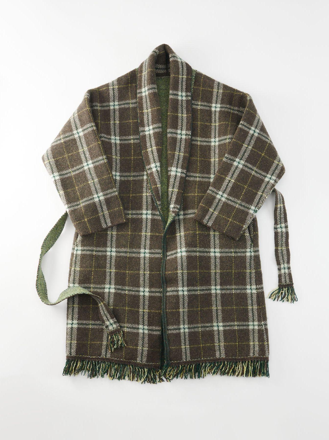 Boiled Knit 908 Cowichan Coat-1