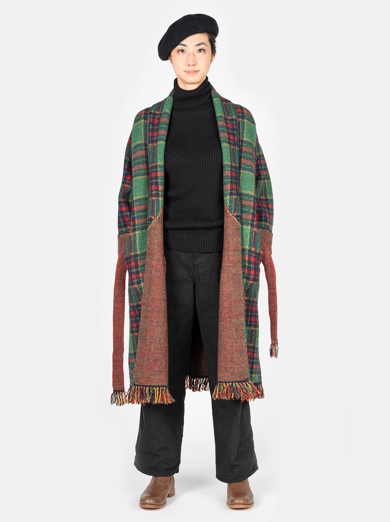 Boiled Knit 908 Cowichan Coat-2