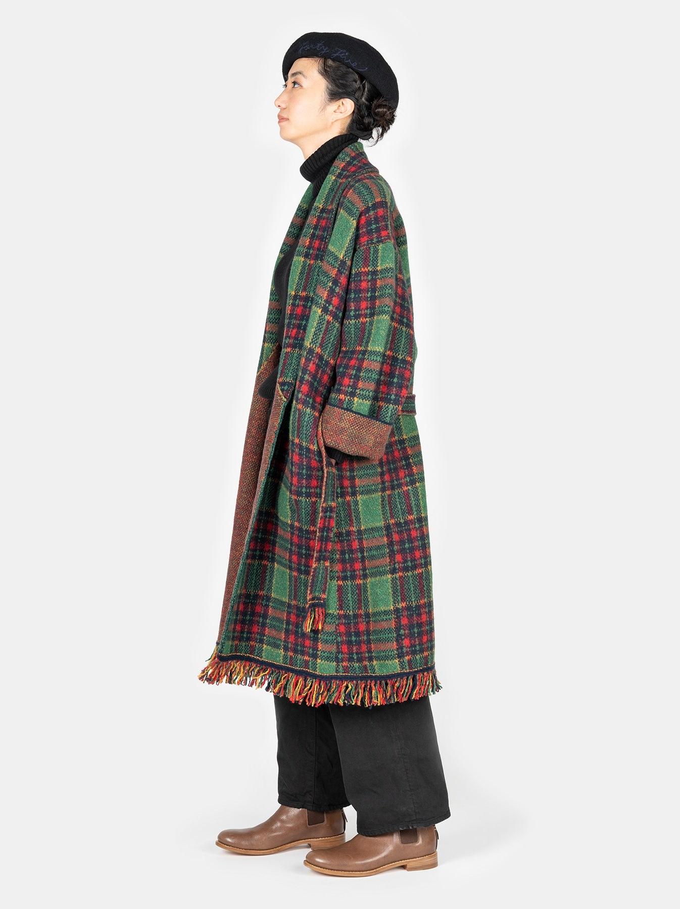 Boiled Knit 908 Cowichan Coat-3