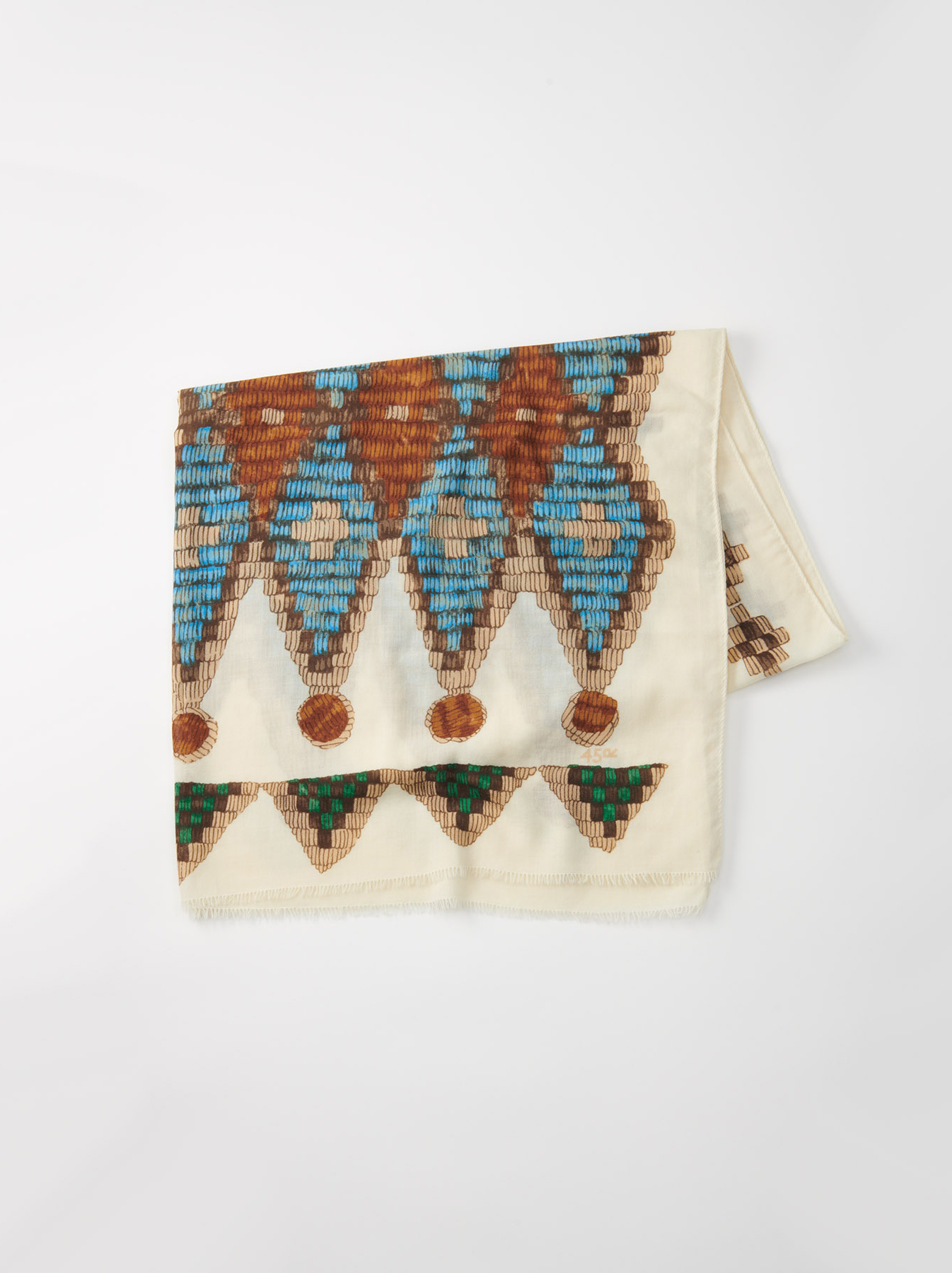 WH Rug Printed Stole-3