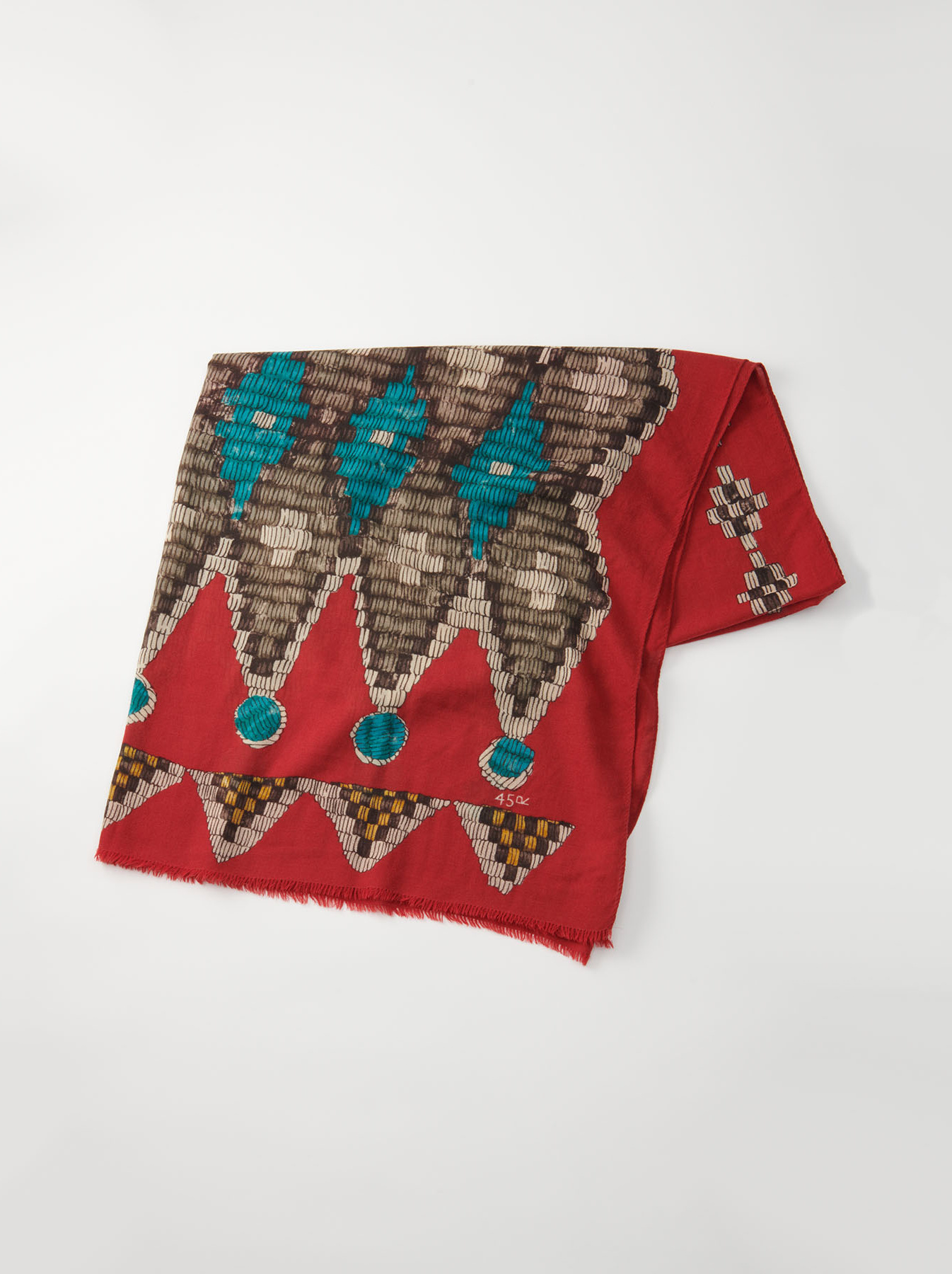 WH Rug Printed Stole-5