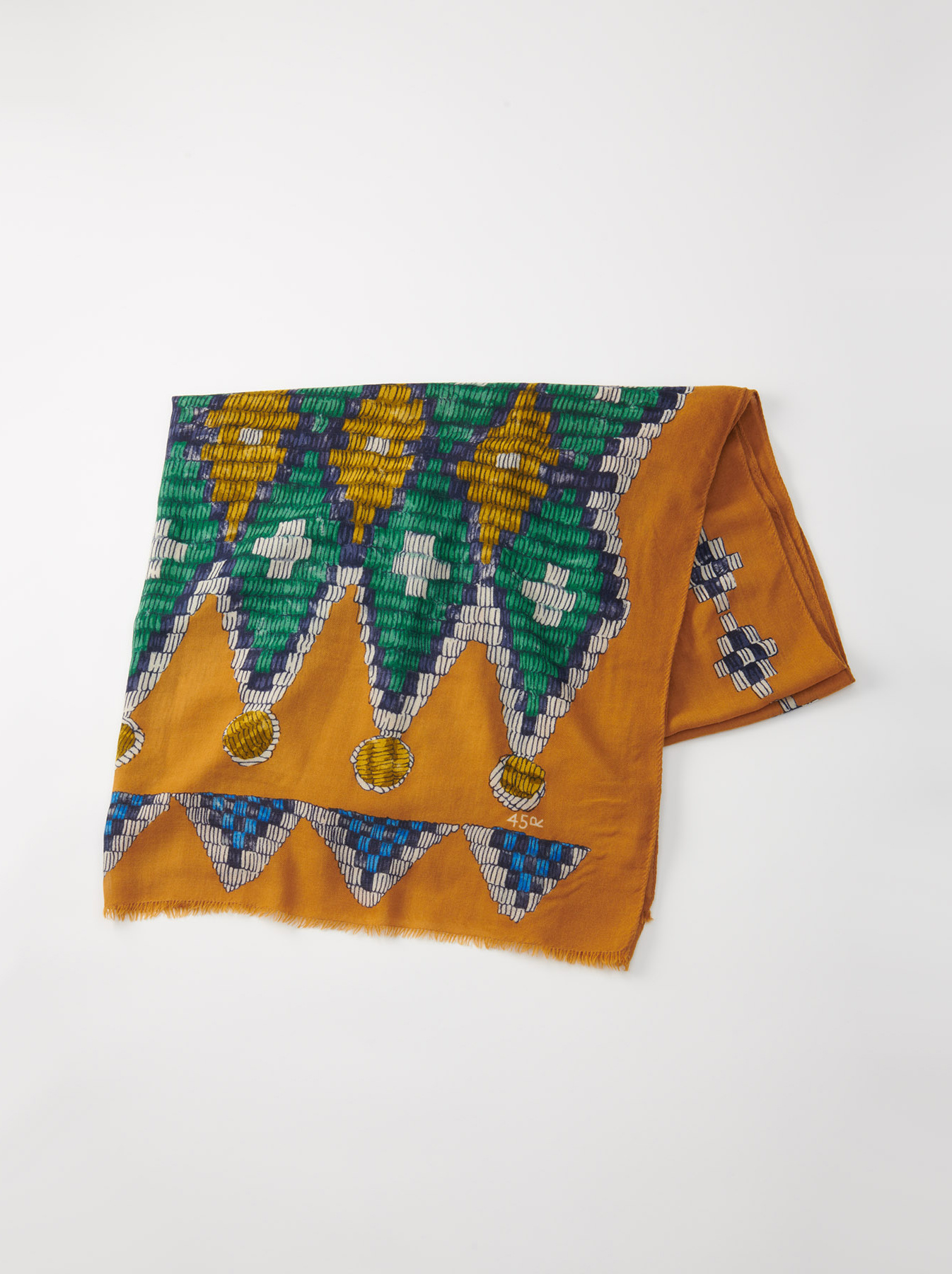 WH Rug Printed Stole-4