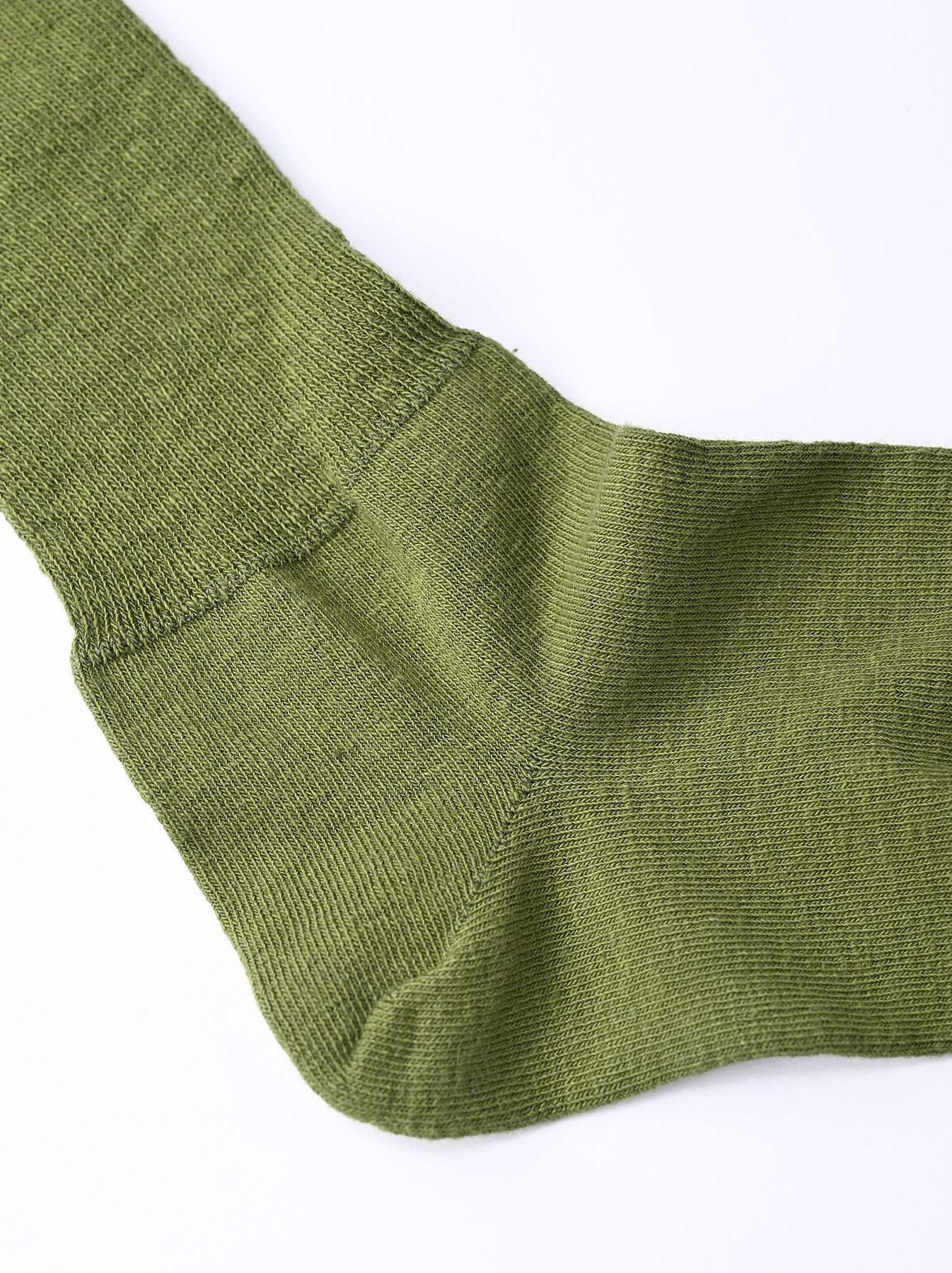 Piece-dyed 45 Star Socks-7