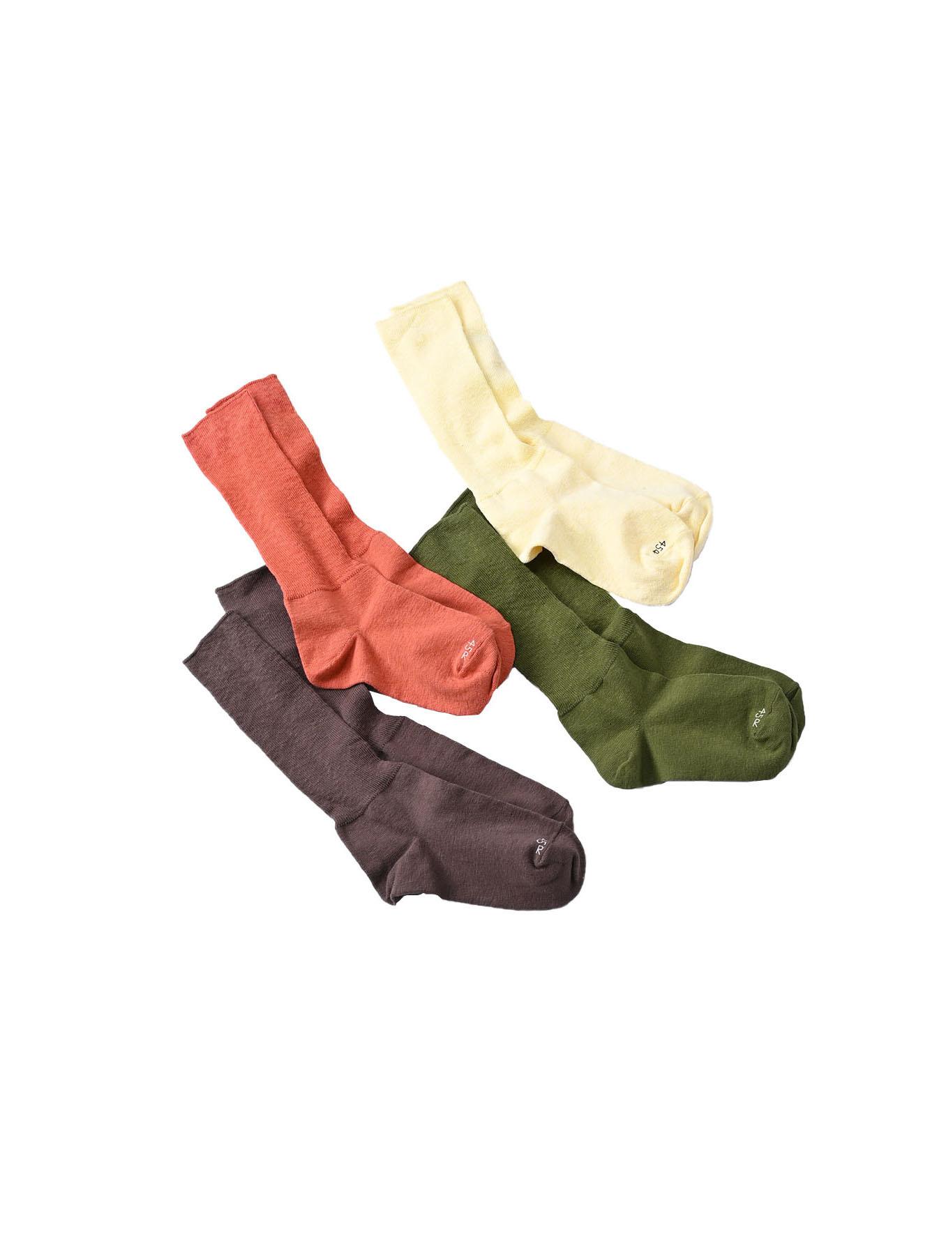 Piece-dyed 45 Star Socks-2