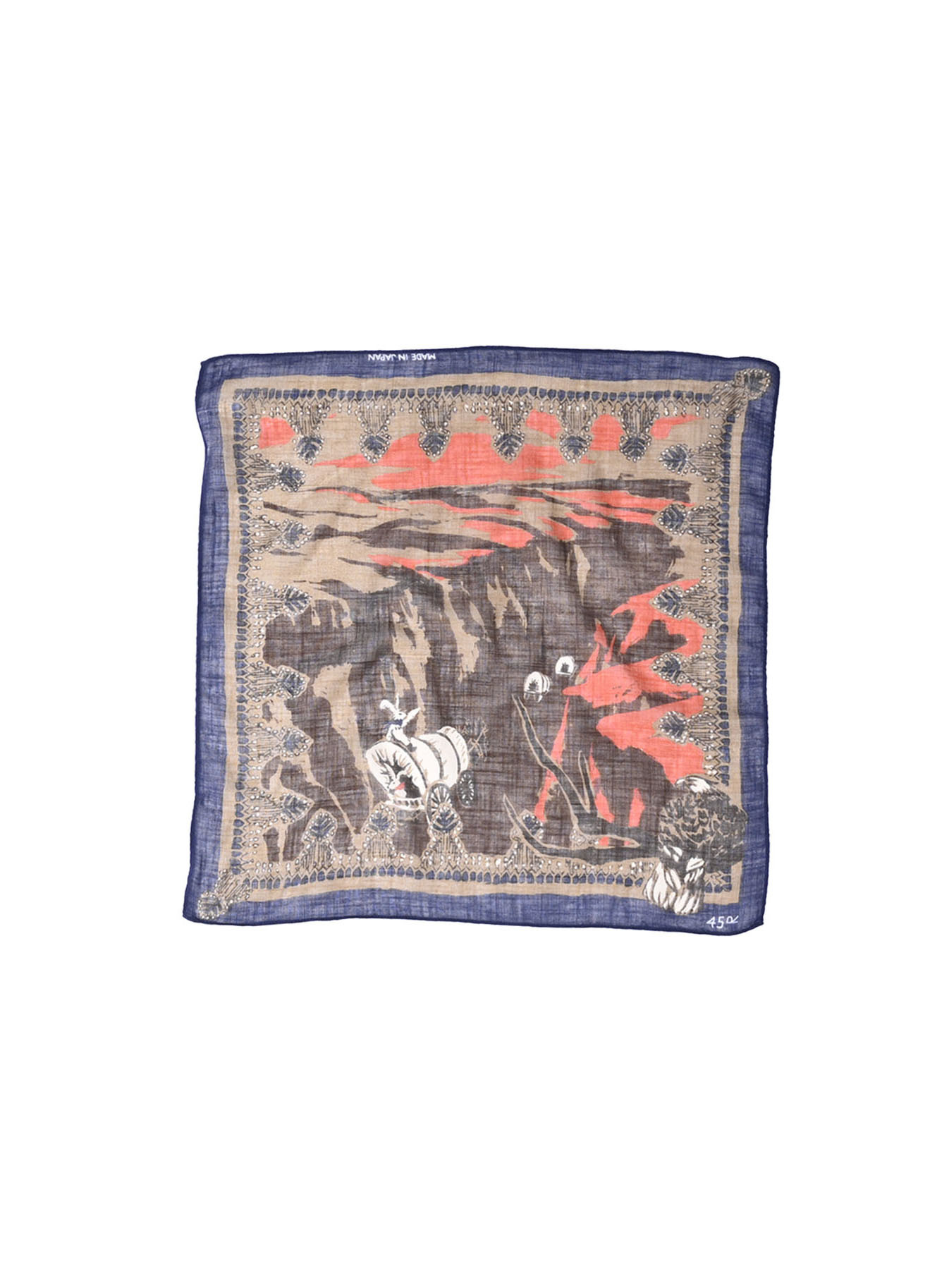 Winter Holiday Picture Book Bandana (1220)-1