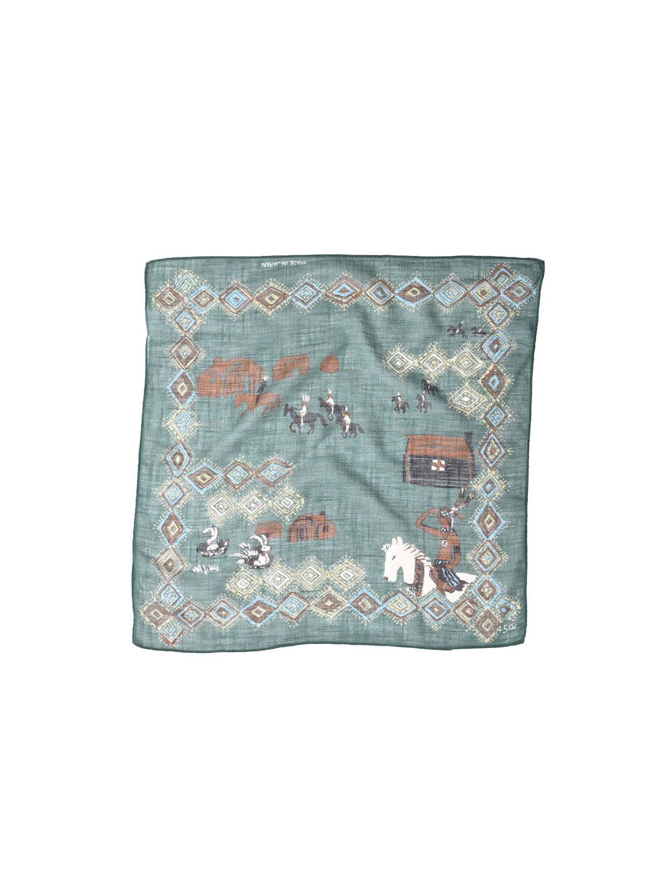 Winter Holiday Picture Book Bandana (1220)-3