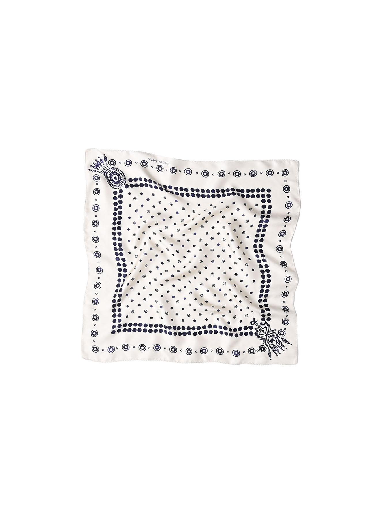 Silk Dots Charm Bandana (1220)-3