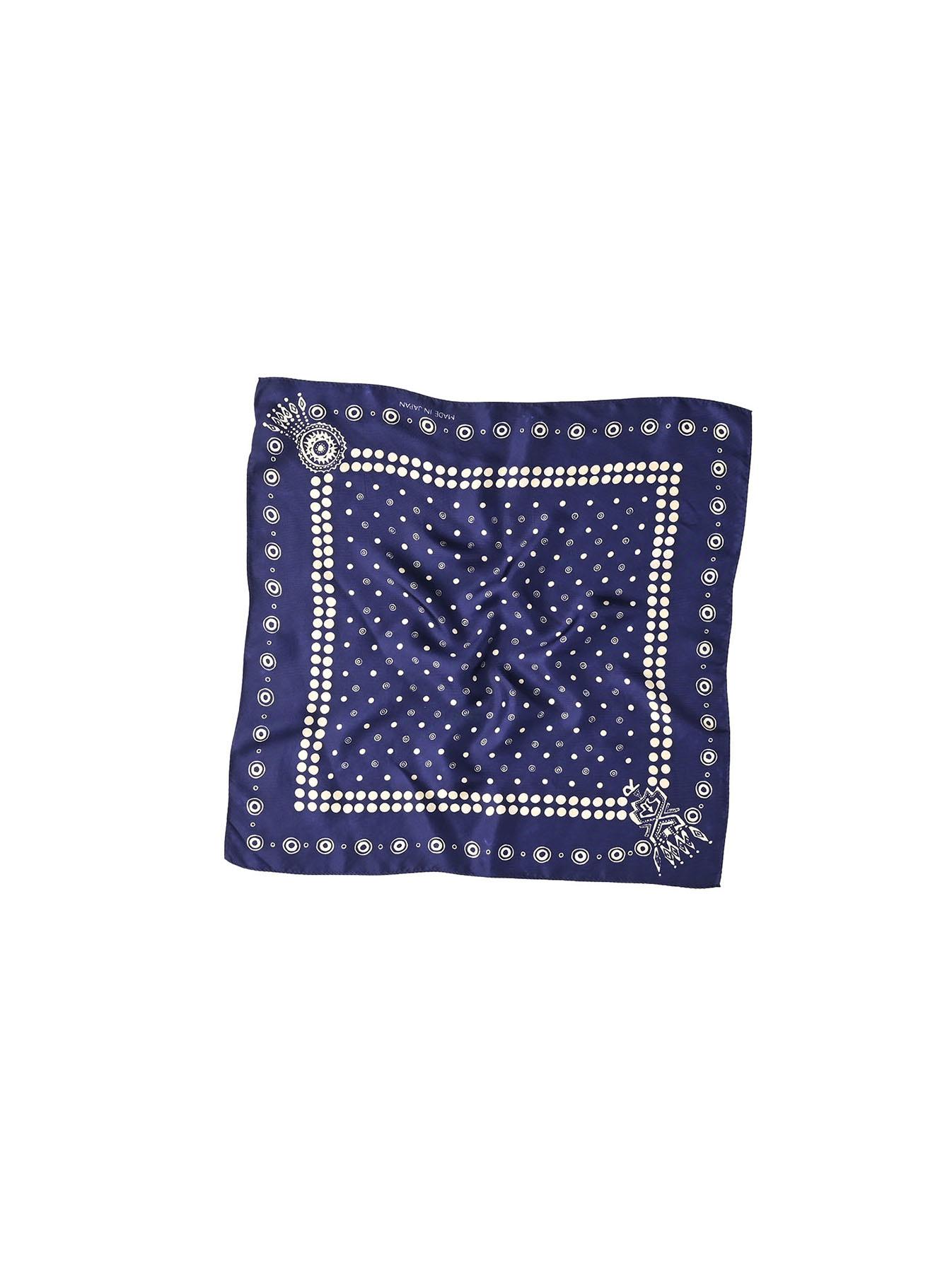 Silk Dots Charm Bandana (1220)-1