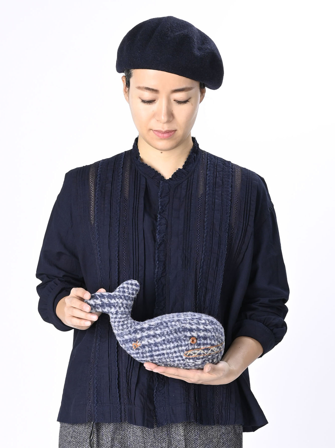 Stuffed Toy Whale-2