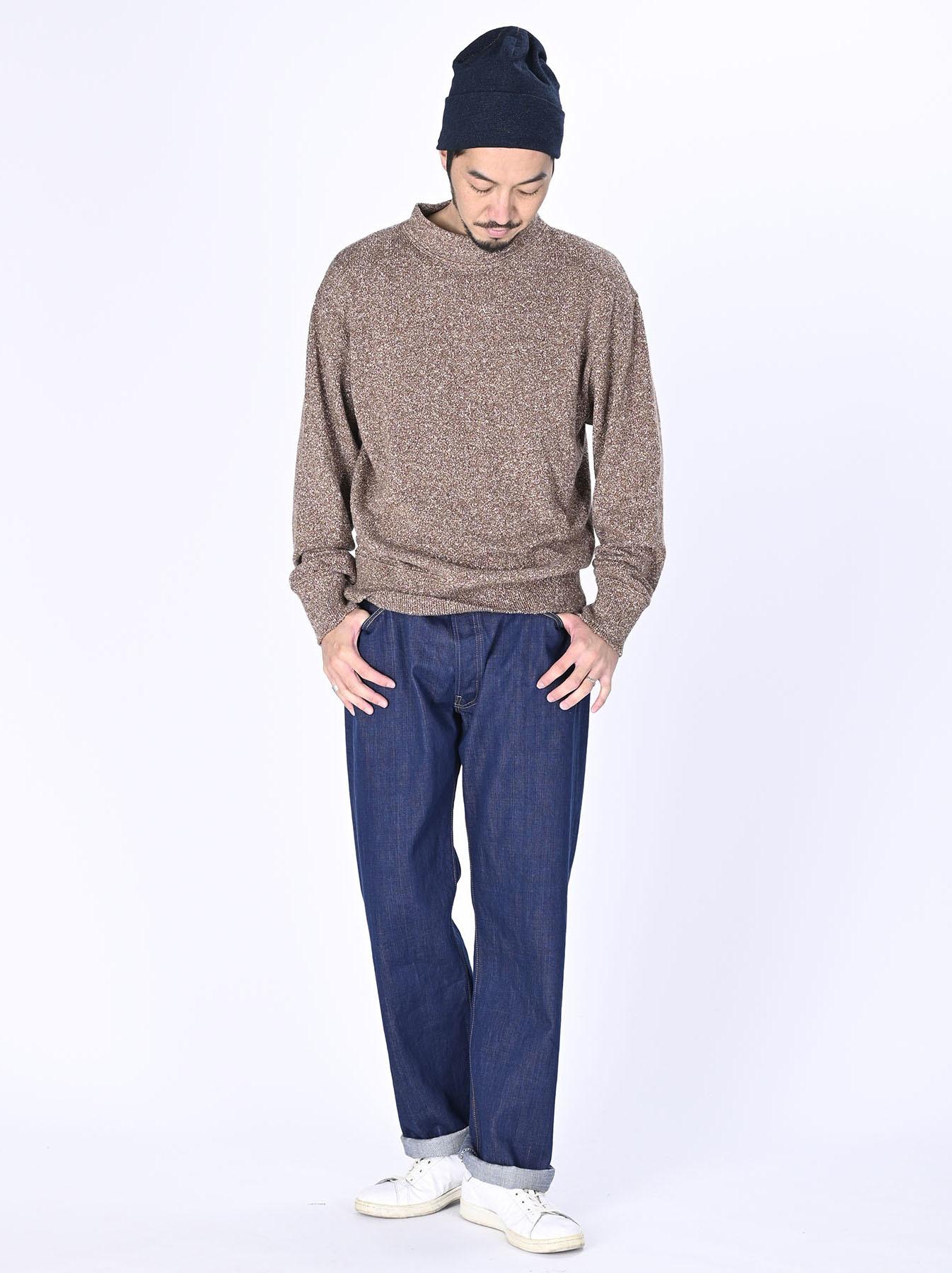WH Mokumoku Knit-sew Mockneck-2