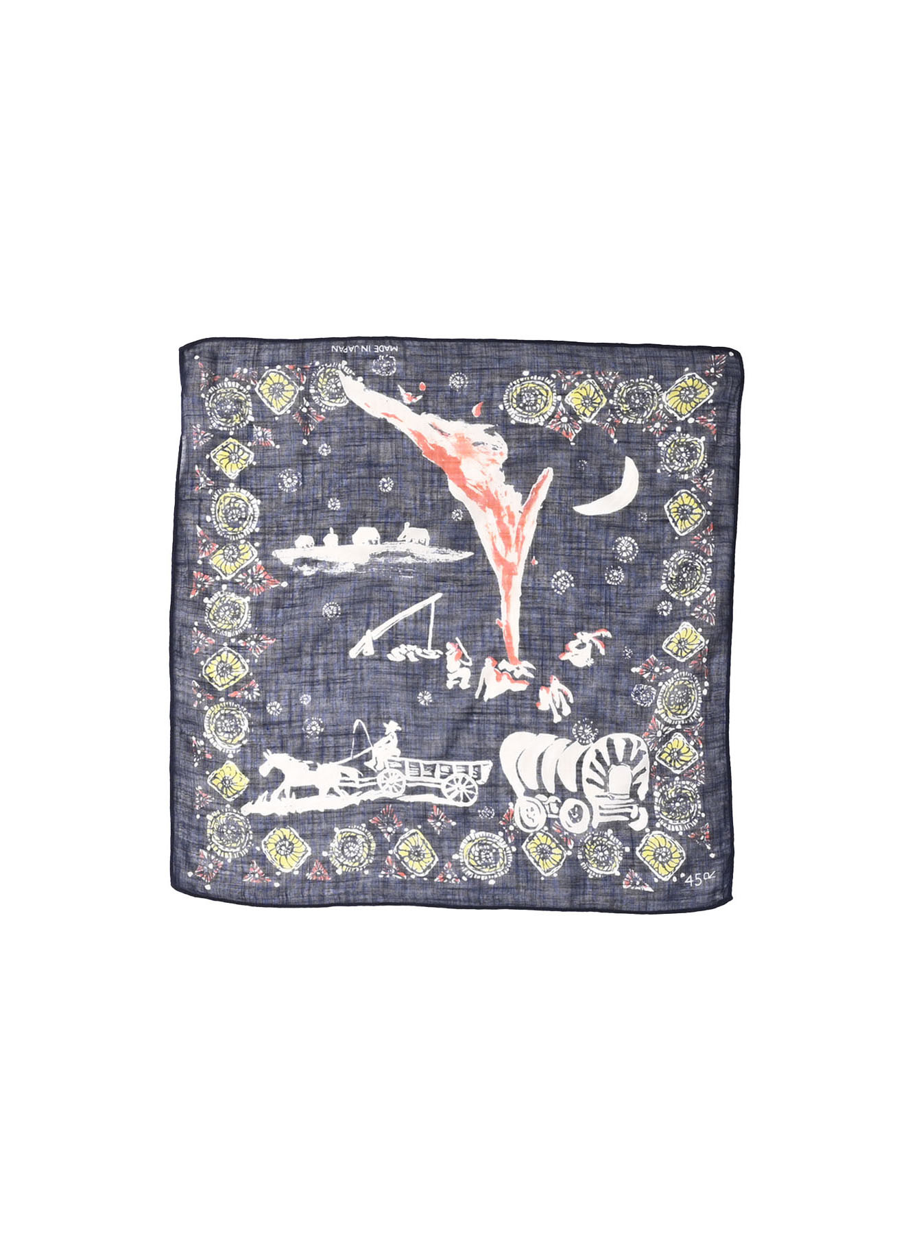 Winter Holiday Picture Book Bandana (1220)-5