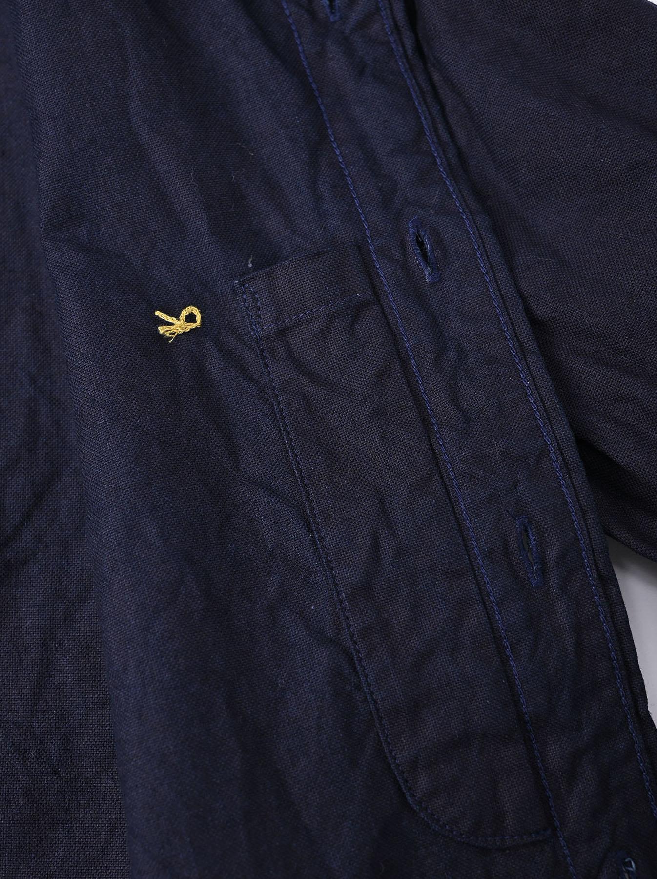 Indigo  Zimbabwe Oxford 908 Regular Shirt-12