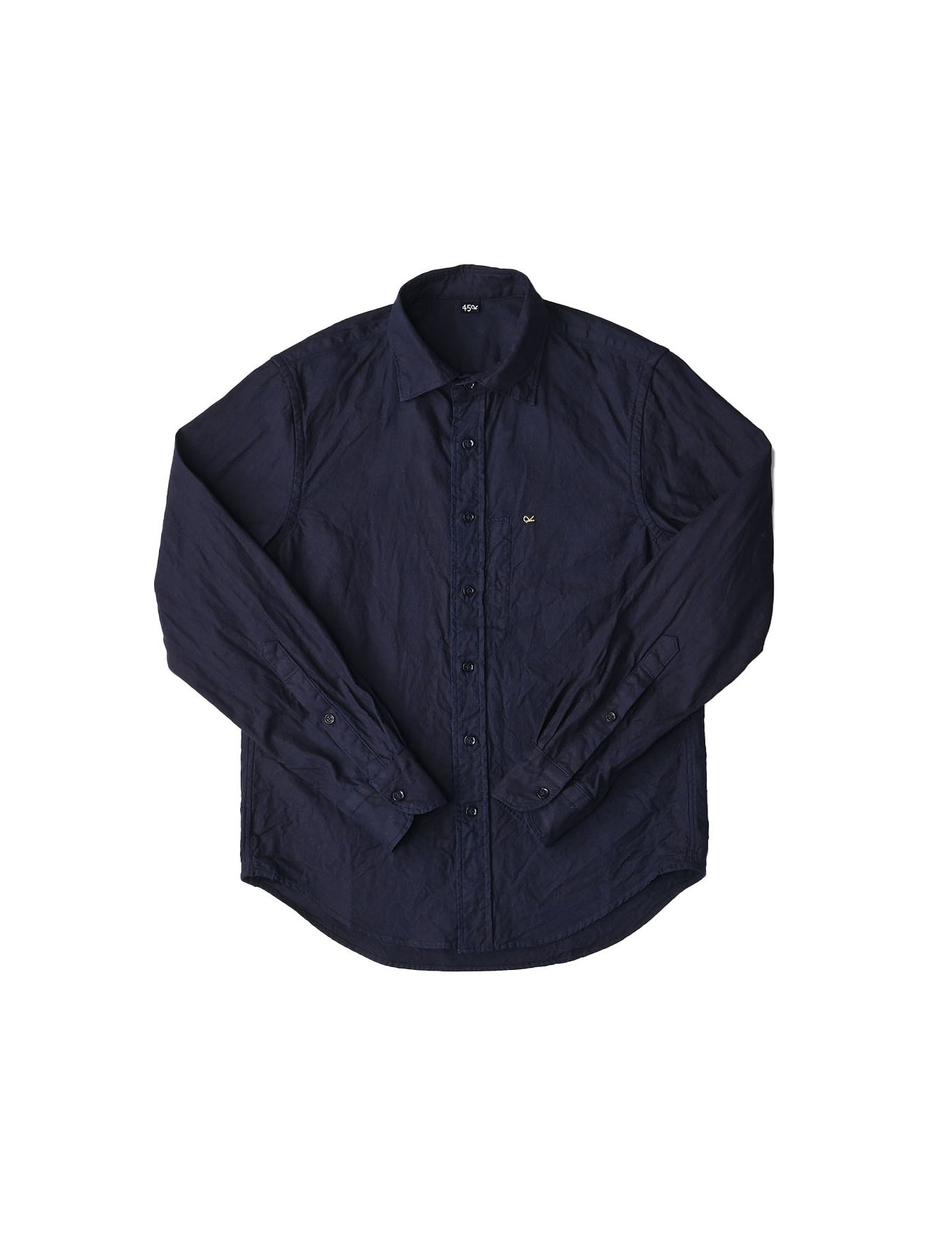 Indigo  Zimbabwe Oxford 908 Regular Shirt-1