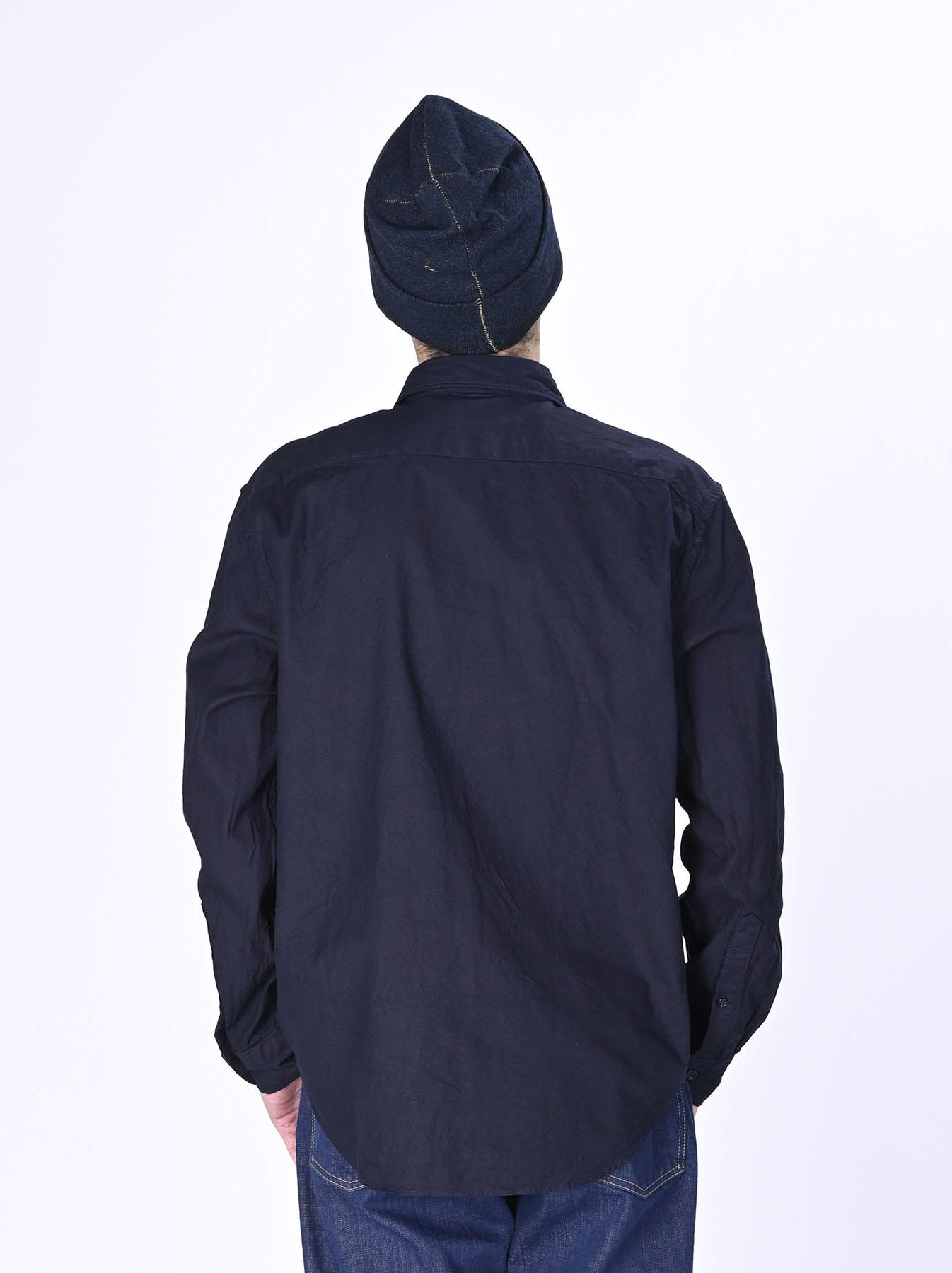 Indigo  Zimbabwe Oxford 908 Regular Shirt-9