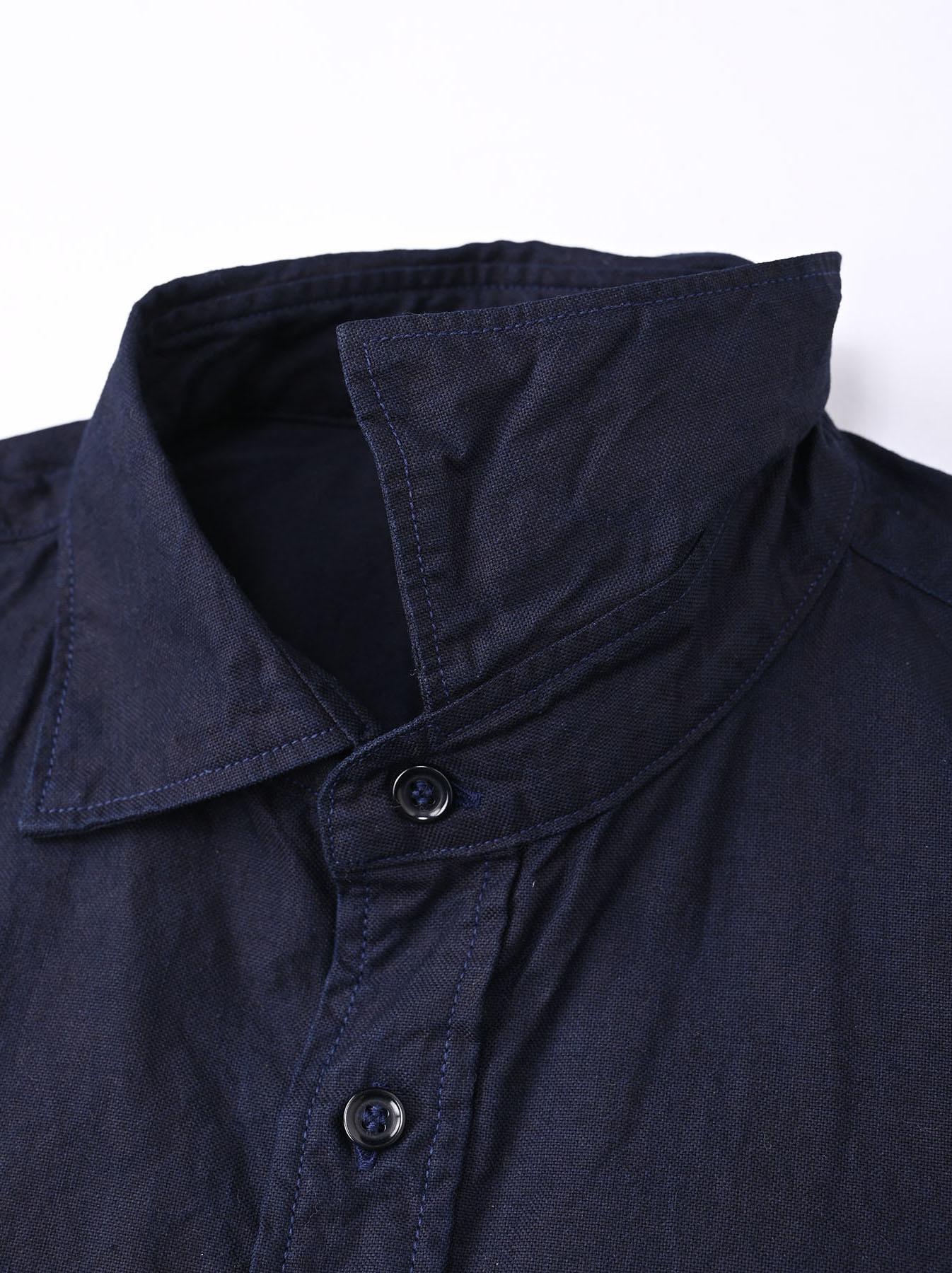 Indigo  Zimbabwe Oxford 908 Regular Shirt-11