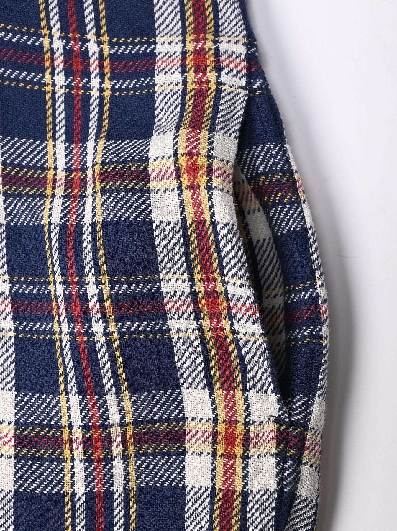 Indian Flannel Big Shirt-dress-11