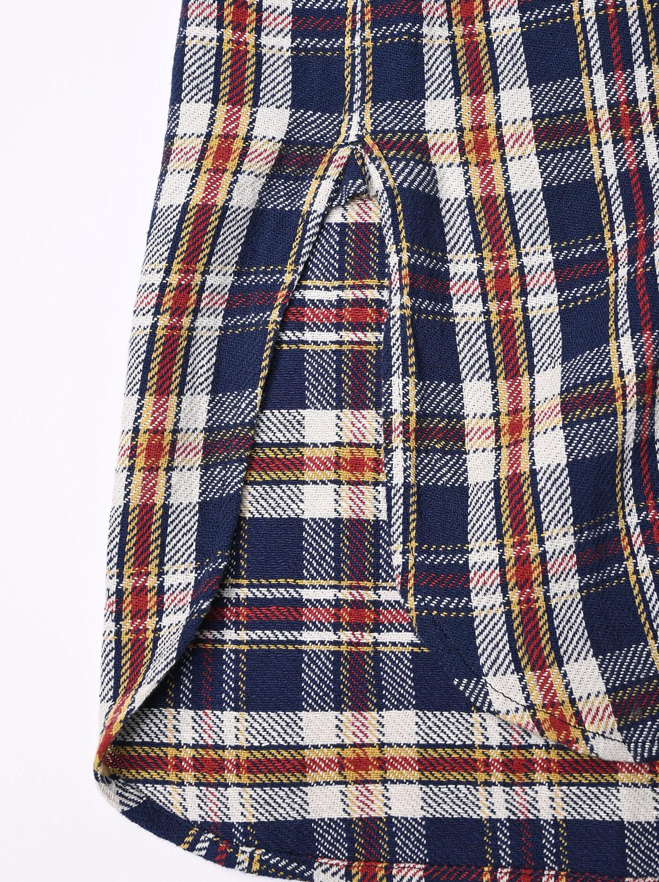 Indian Flannel Big Shirt-dress-12