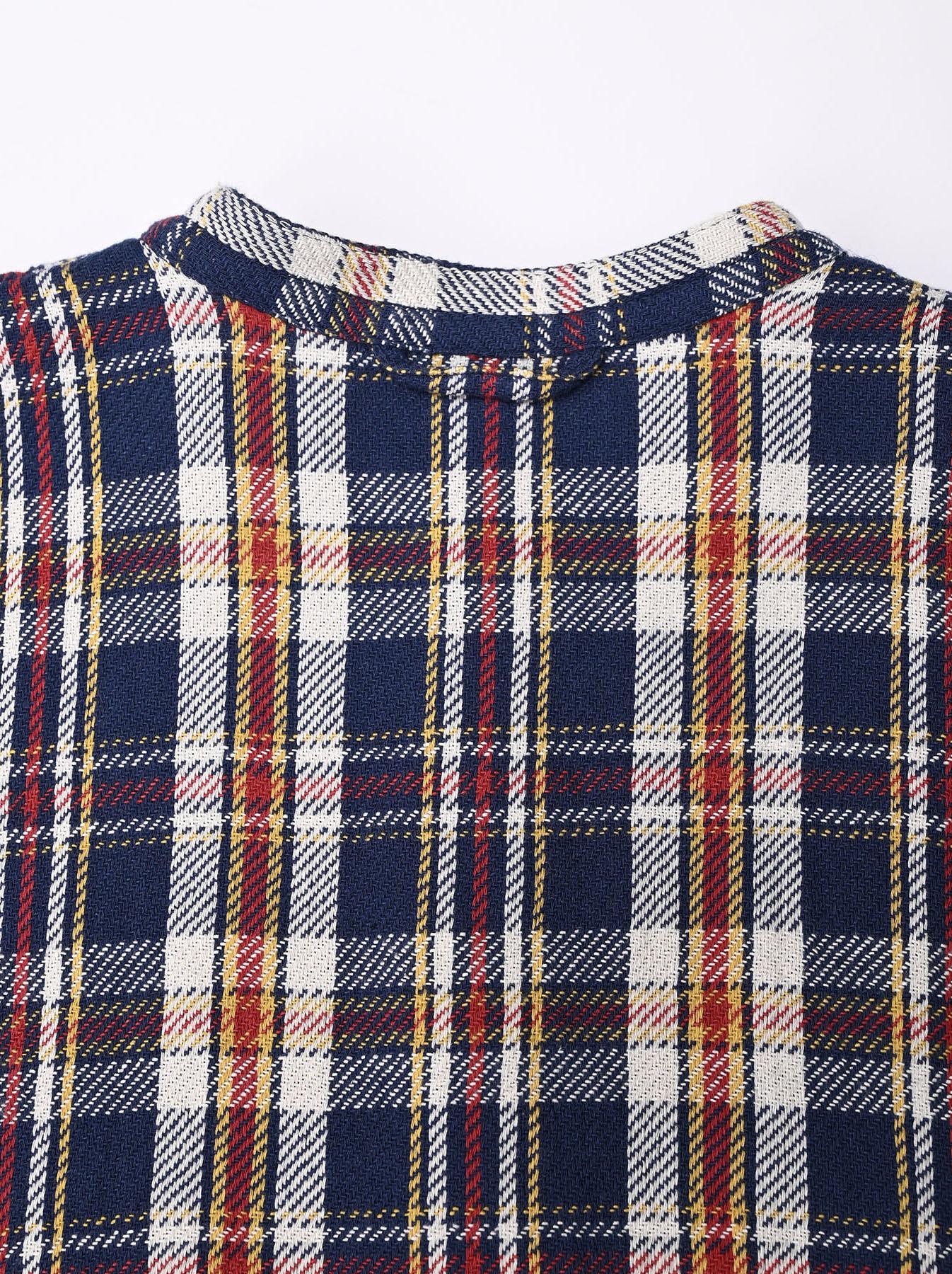 Indian Flannel Big Shirt-dress-8