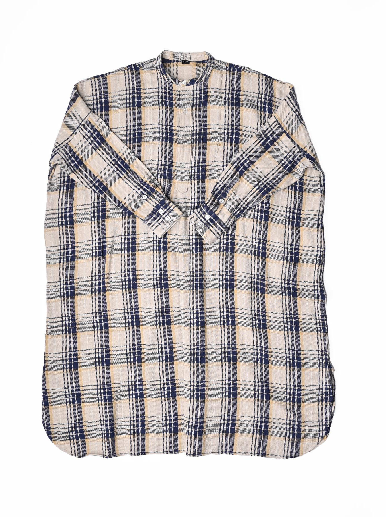 Indian Flannel Big Shirt-dress-5