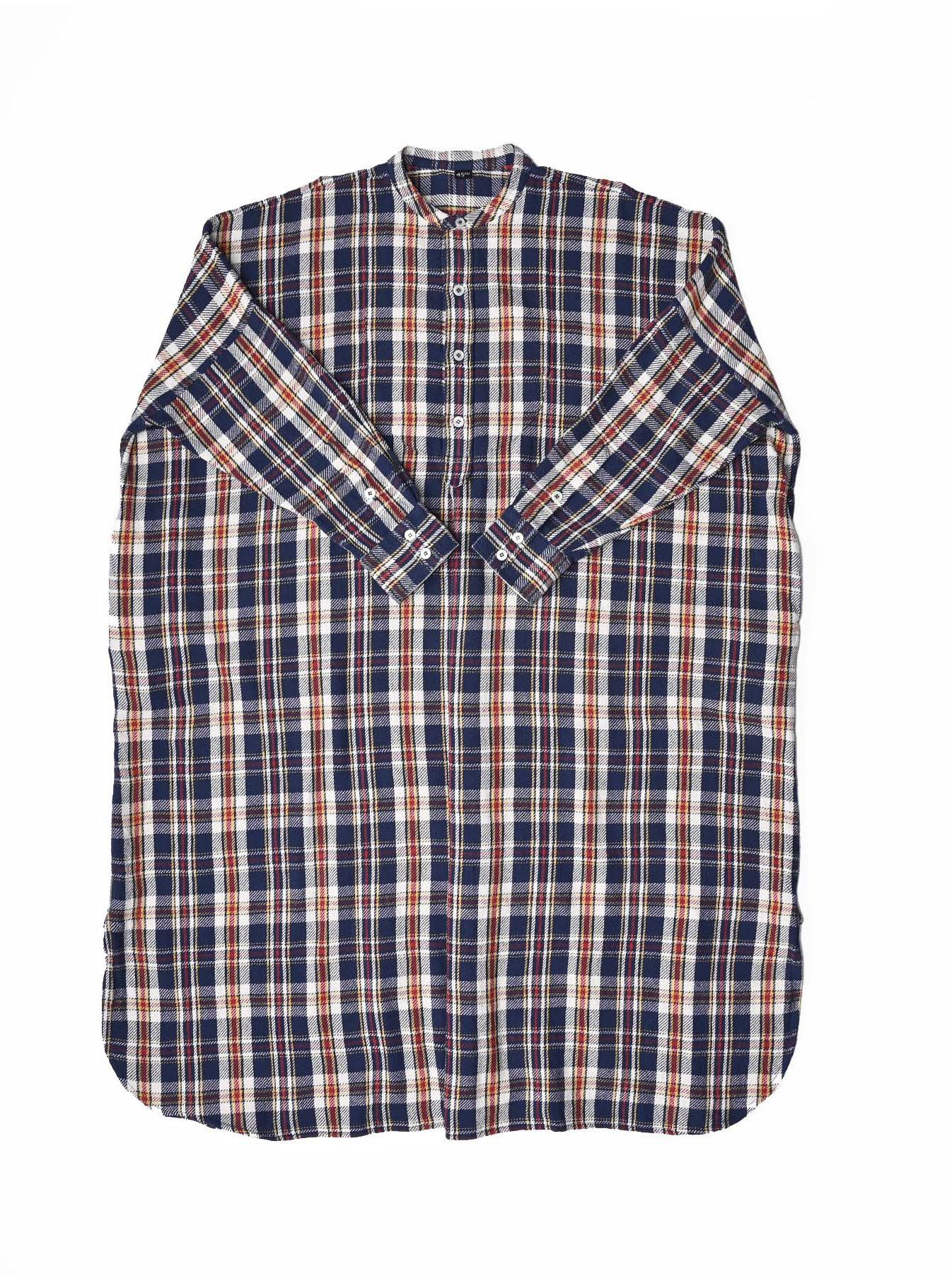 Indian Flannel Big Shirt-dress-1