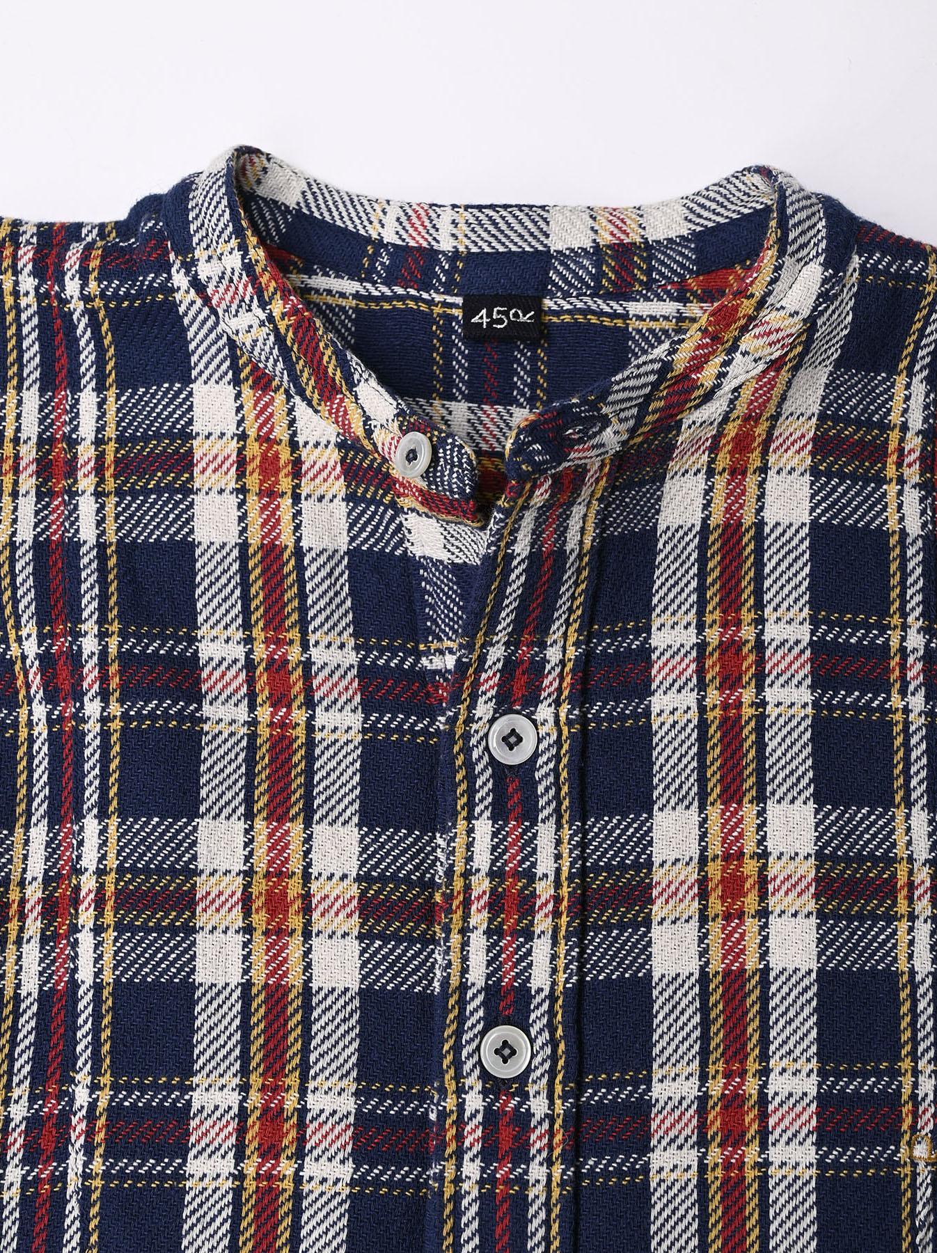 Indian Flannel Big Shirt-dress-7
