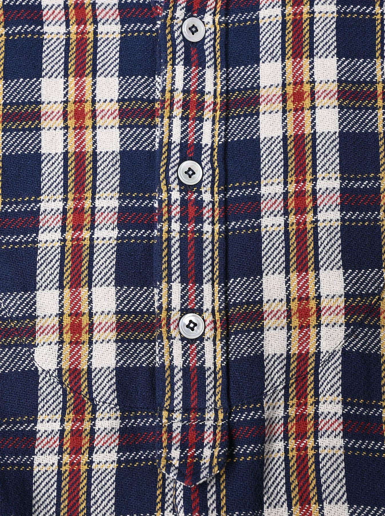 Indian Flannel Big Shirt-dress-9