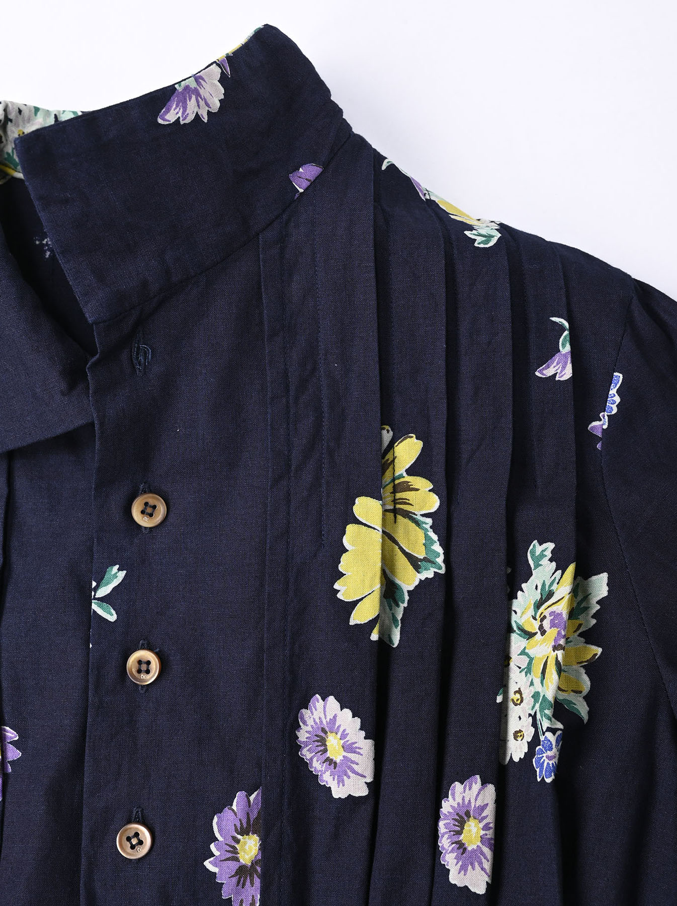 Indigo Margaret Print Dress-8