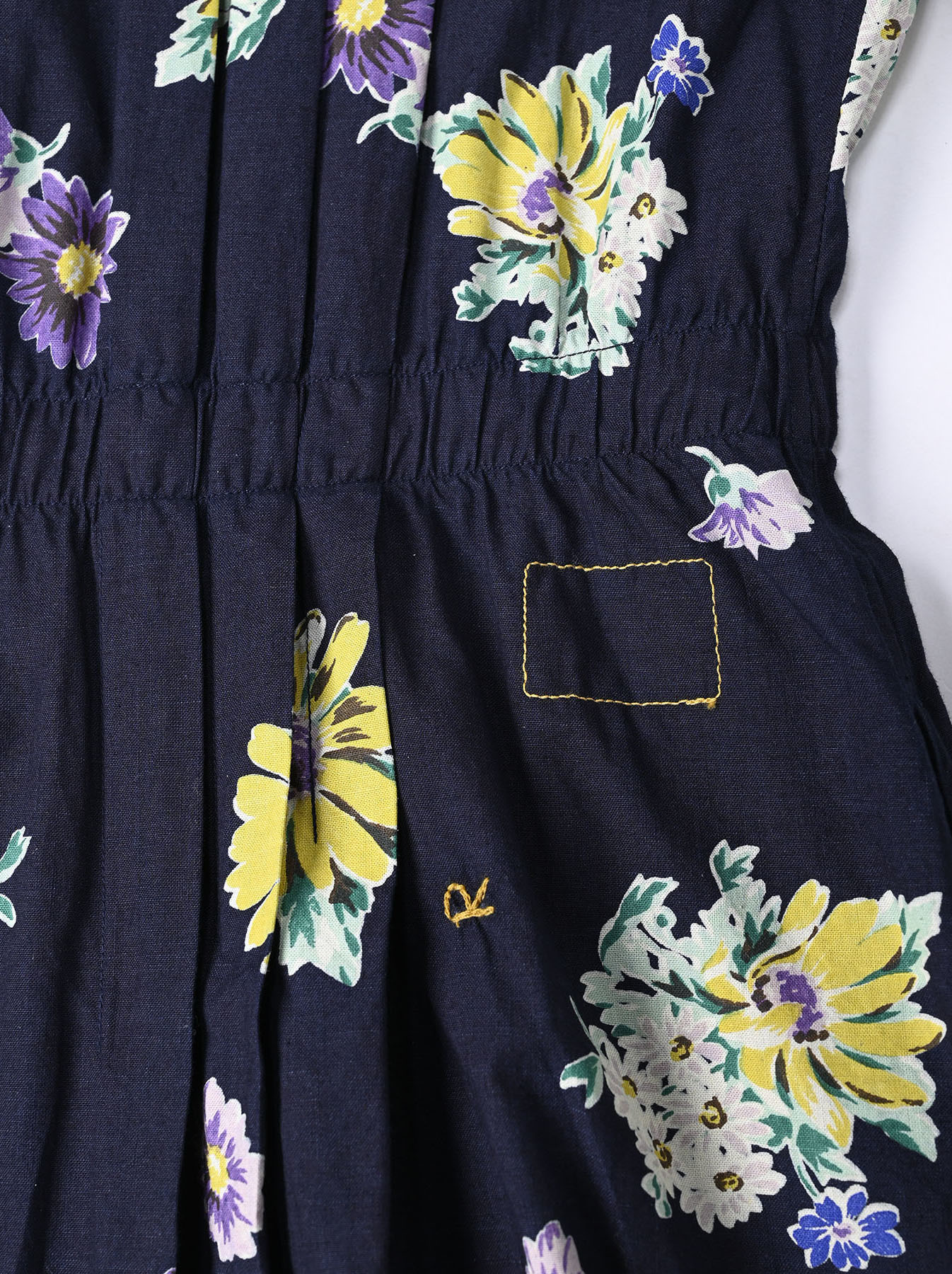 Indigo Margaret Print Dress-12