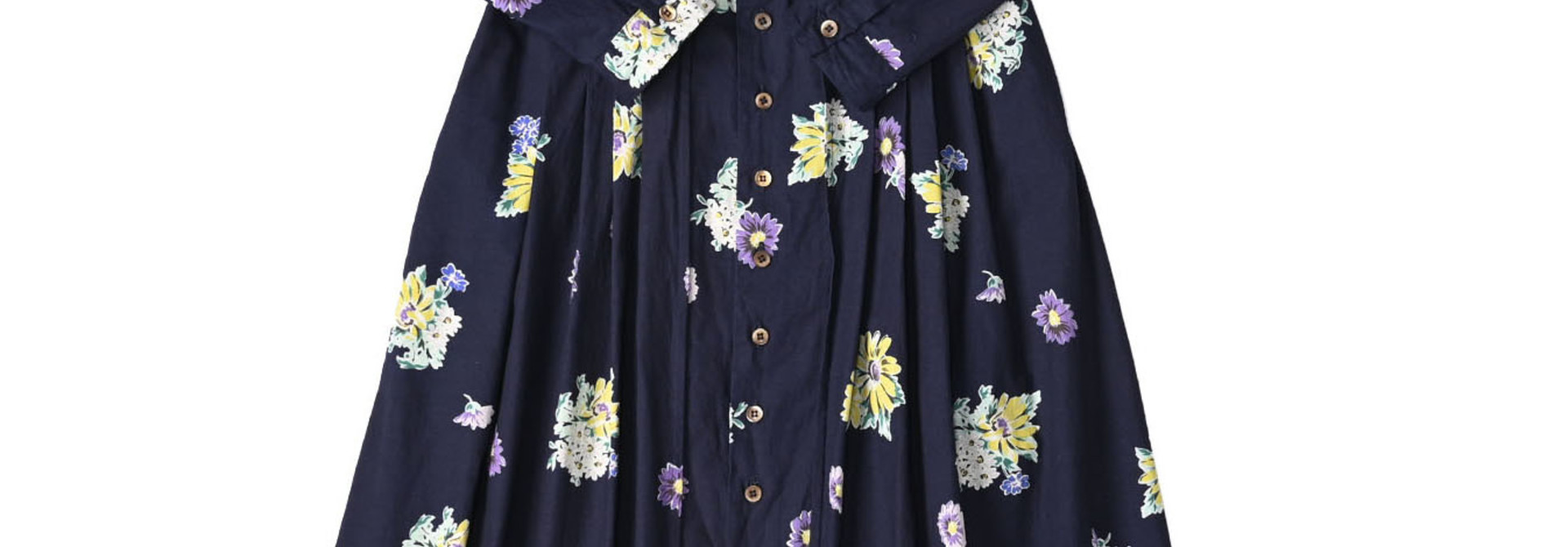 Indigo Margaret Print Dress
