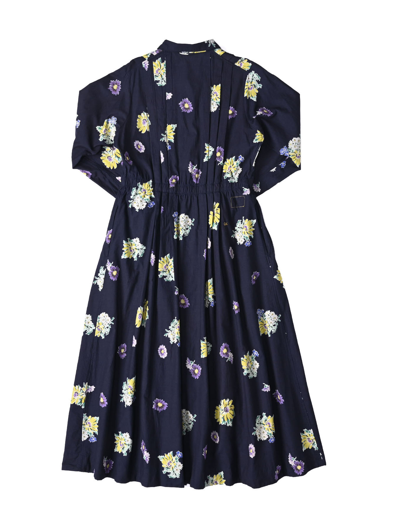 Indigo Margaret Print Dress-5