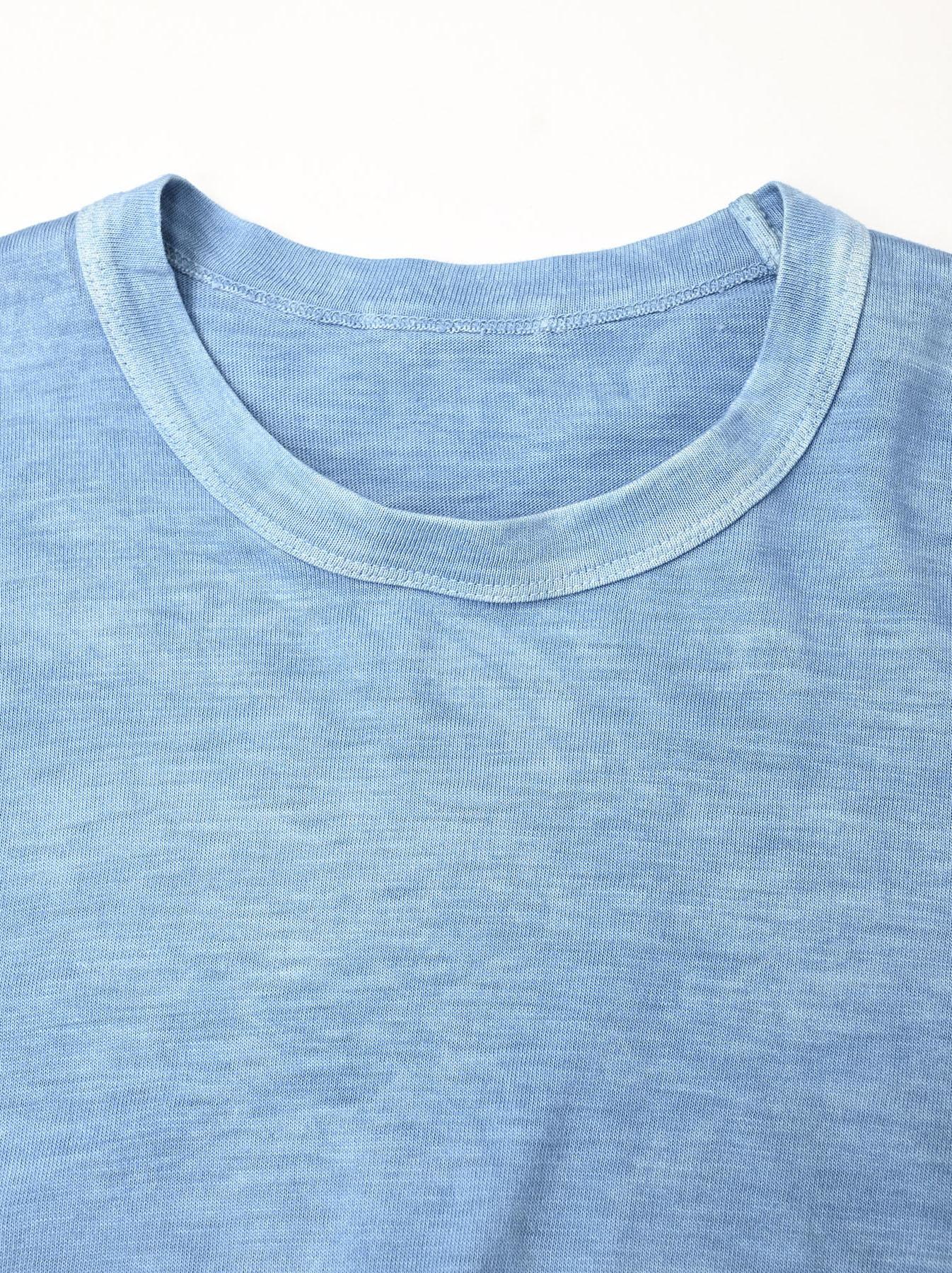 Ai Organic Supima Tenjiku Long-sleeved T-shirt-7