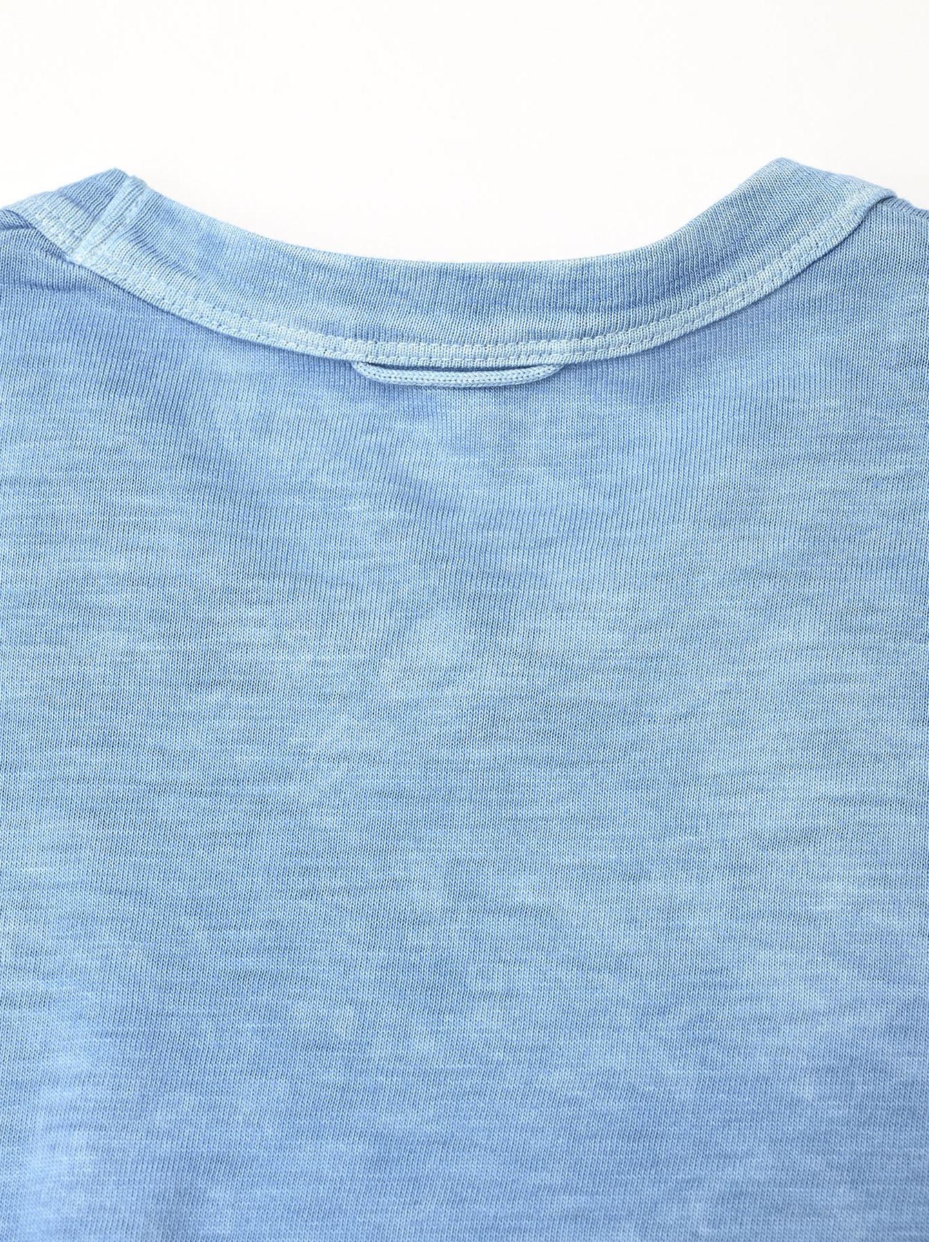Ai Organic Supima Tenjiku Long-sleeved T-shirt-8