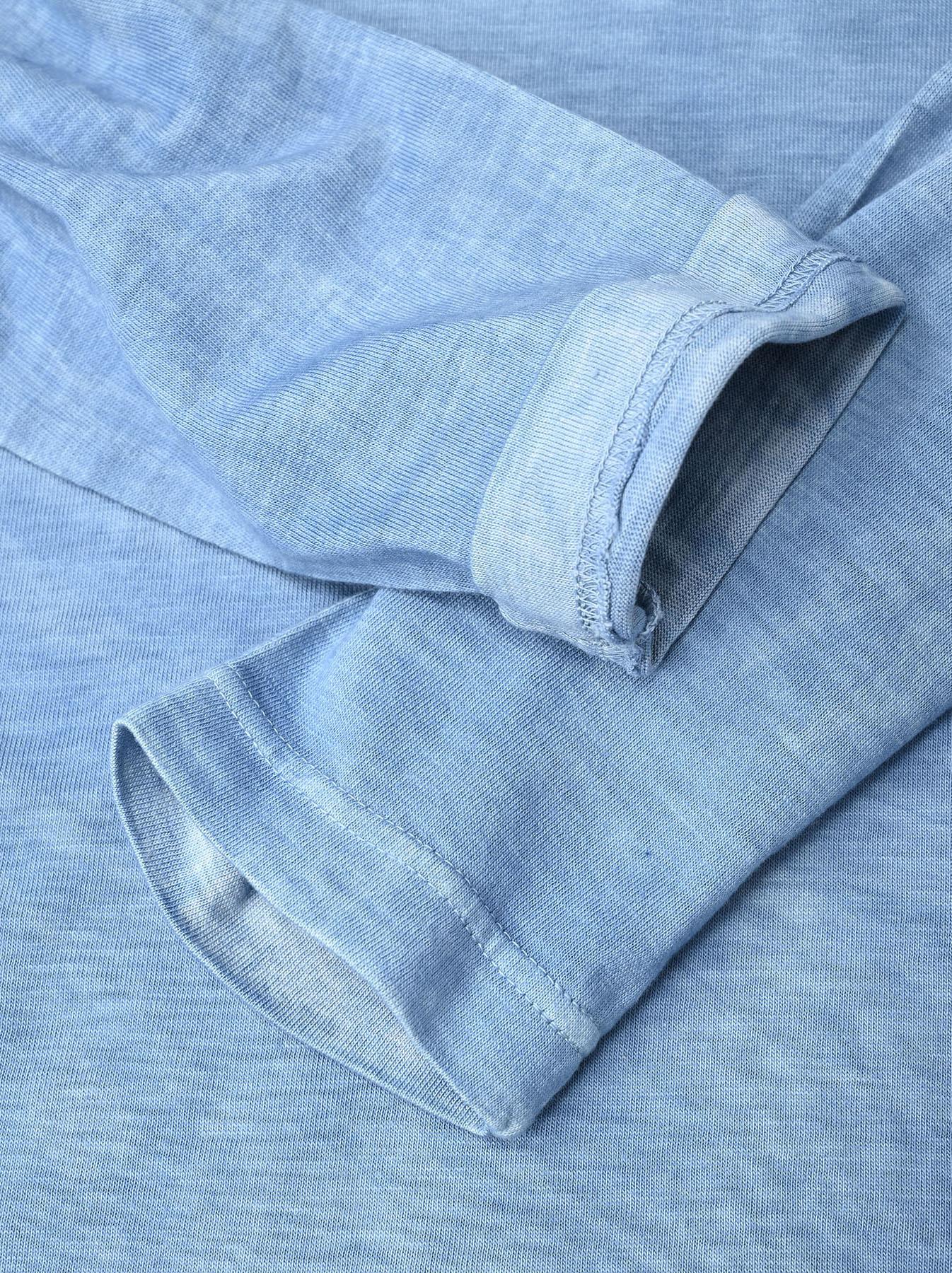 Ai Organic Supima Tenjiku Long-sleeved T-shirt-9