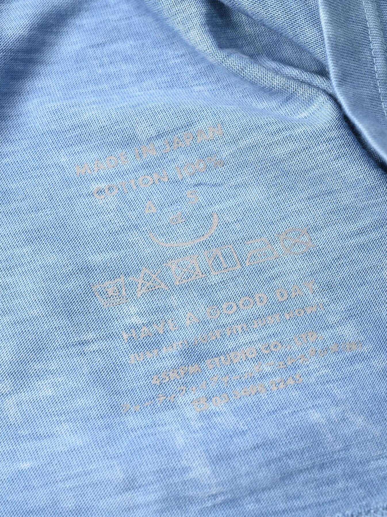 Ai Organic Supima Tenjiku Long-sleeved T-shirt-11