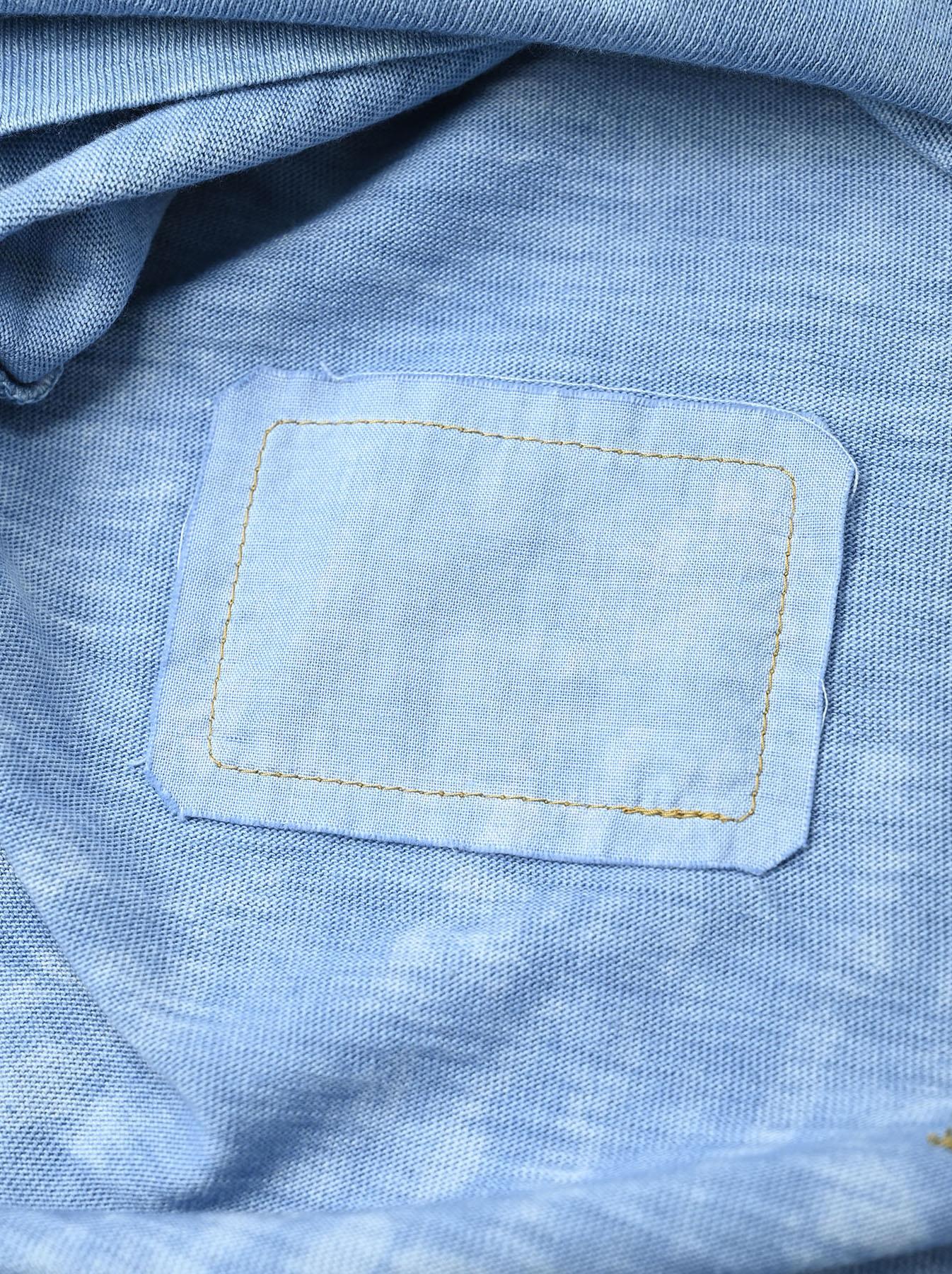 Ai Organic Supima Tenjiku Long-sleeved T-shirt-12