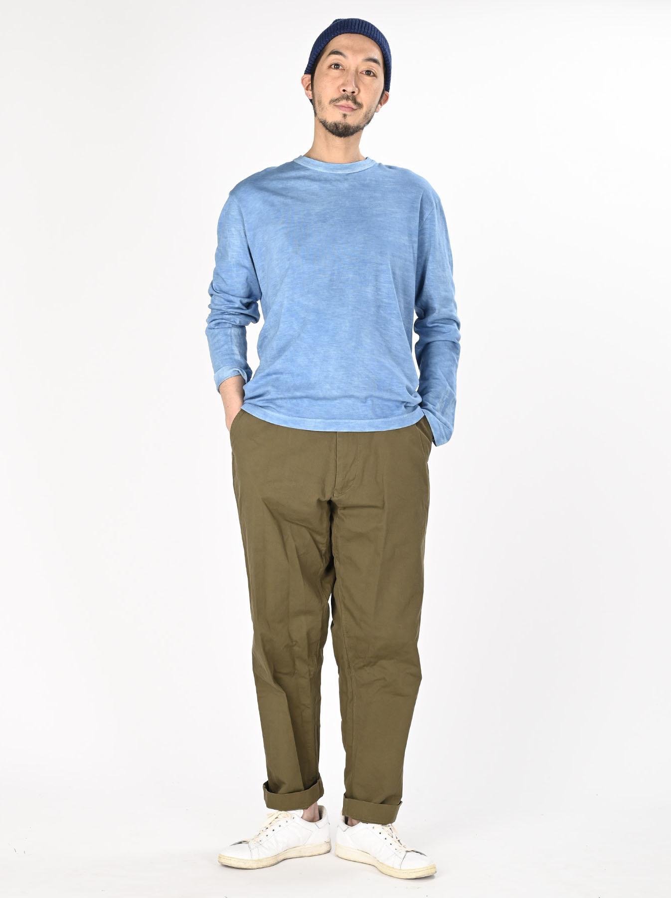 Ai Organic Supima Tenjiku Long-sleeved T-shirt-3