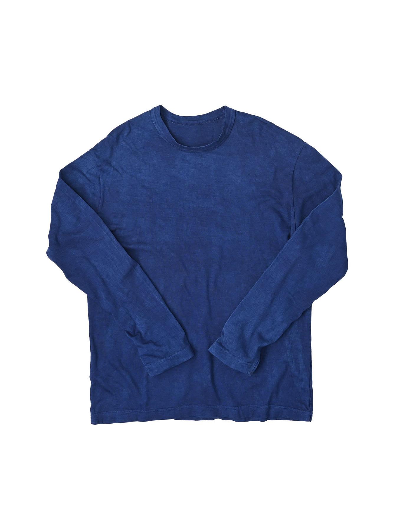 Ai Organic Supima Tenjiku Long-sleeved T-shirt-1