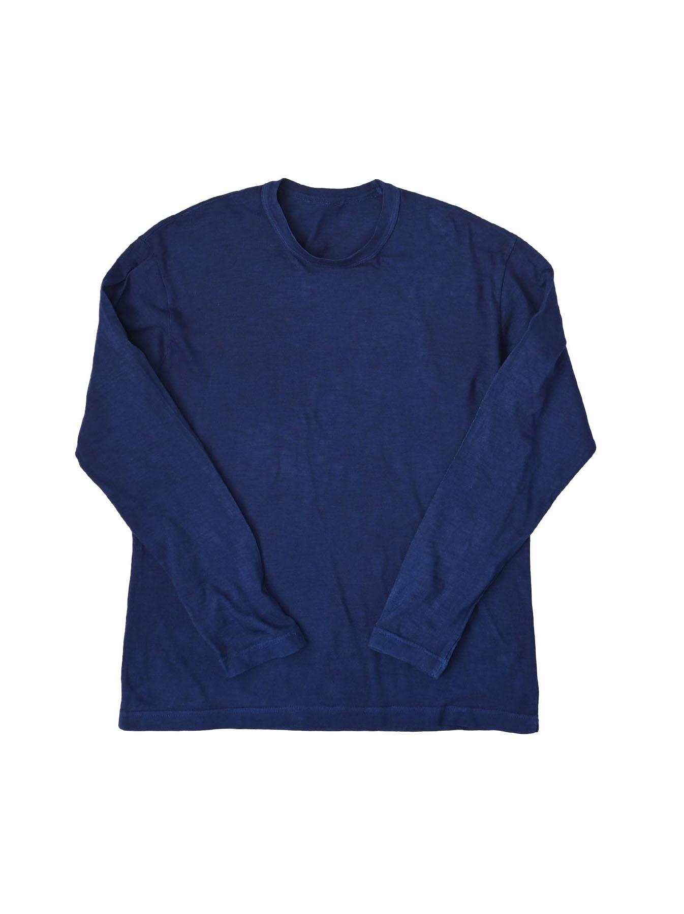 Ai Organic Supima Tenjiku Long-sleeved T-shirt-2