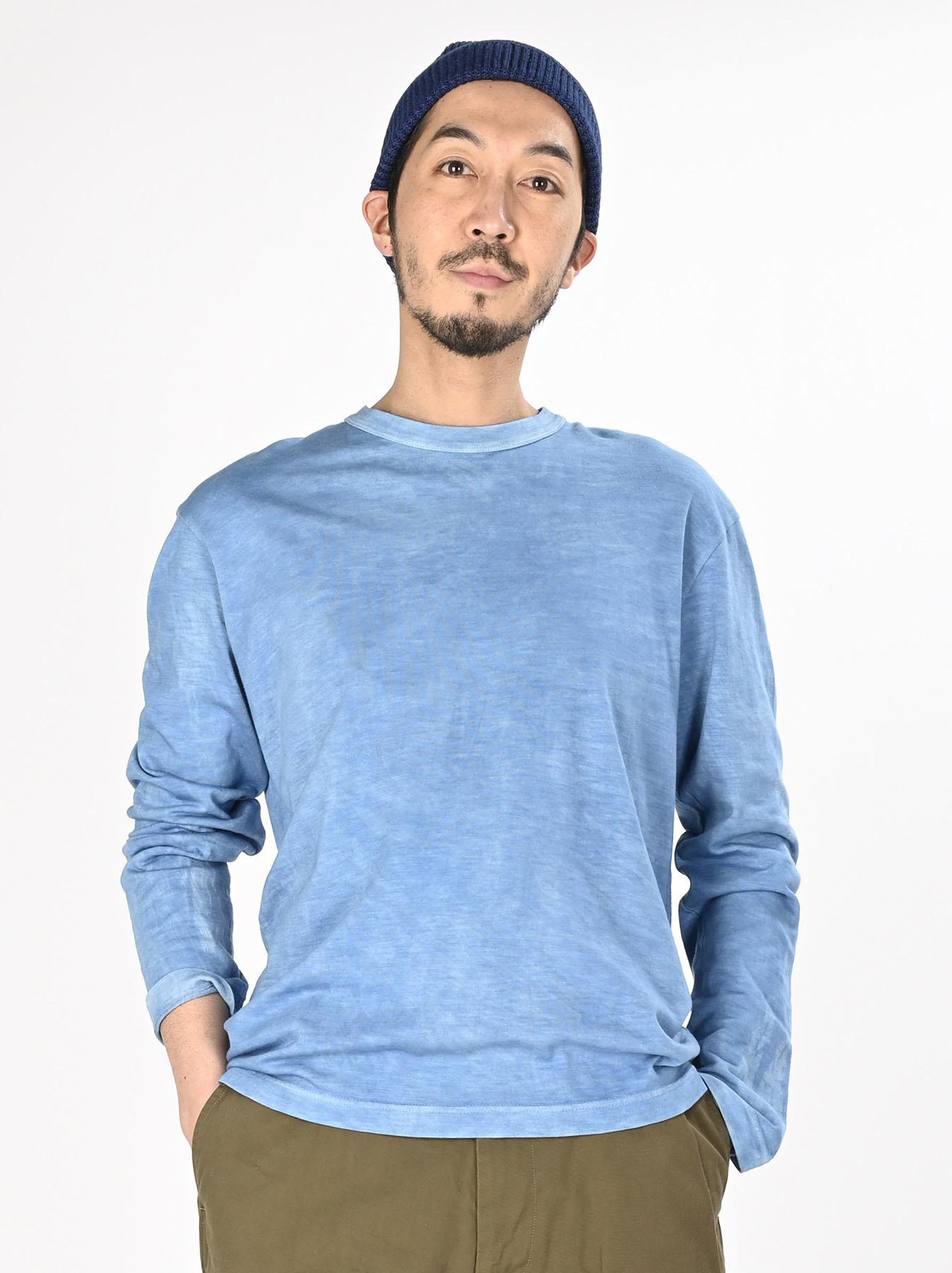 Ai Organic Supima Tenjiku Long-sleeved T-shirt-4
