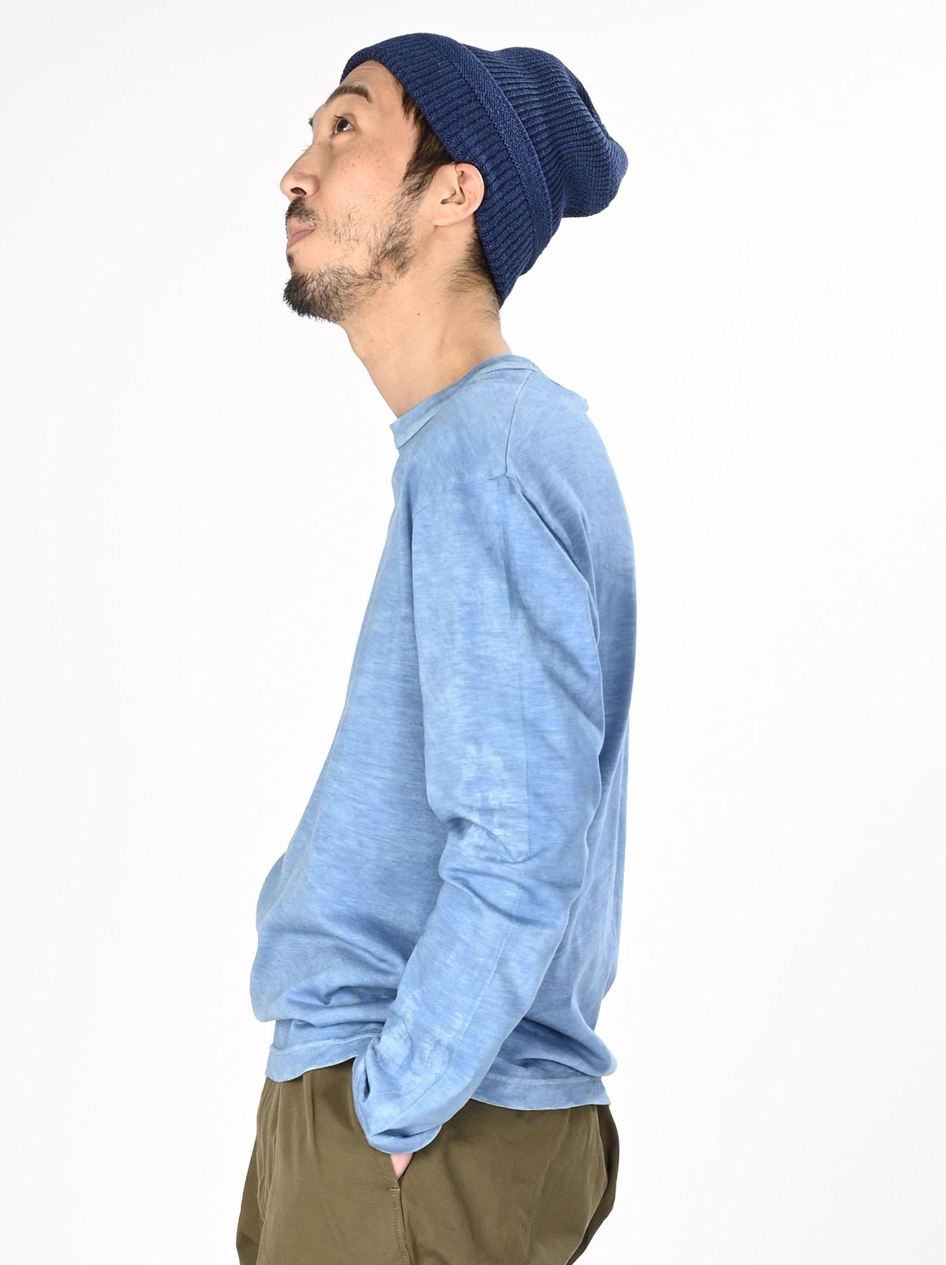 Ai Organic Supima Tenjiku Long-sleeved T-shirt-5