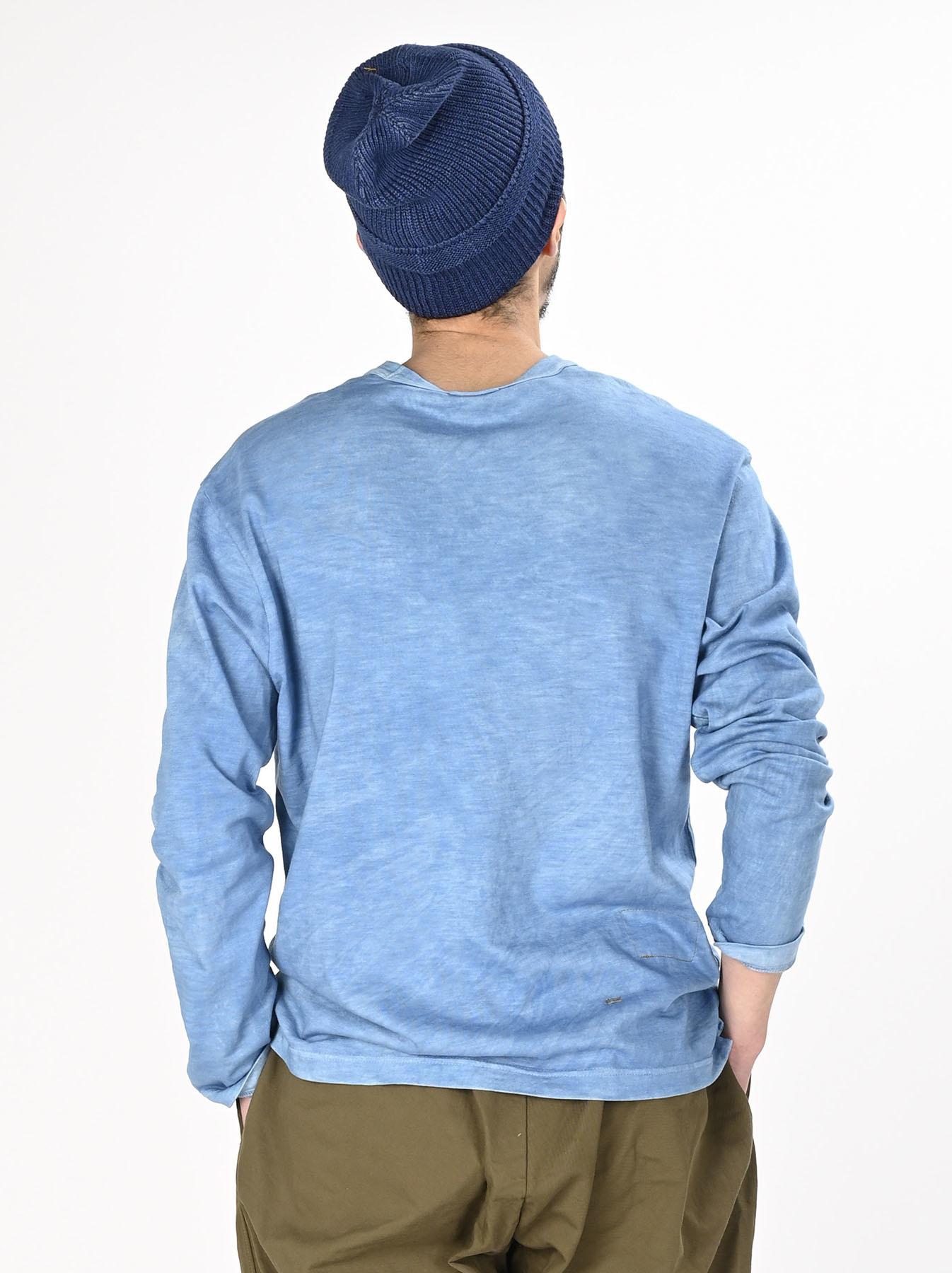 Ai Organic Supima Tenjiku Long-sleeved T-shirt-6