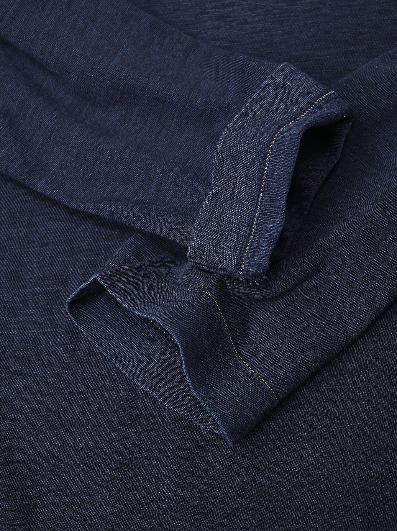 Indigo Zimbabwe Cotton Square T-shirt-9