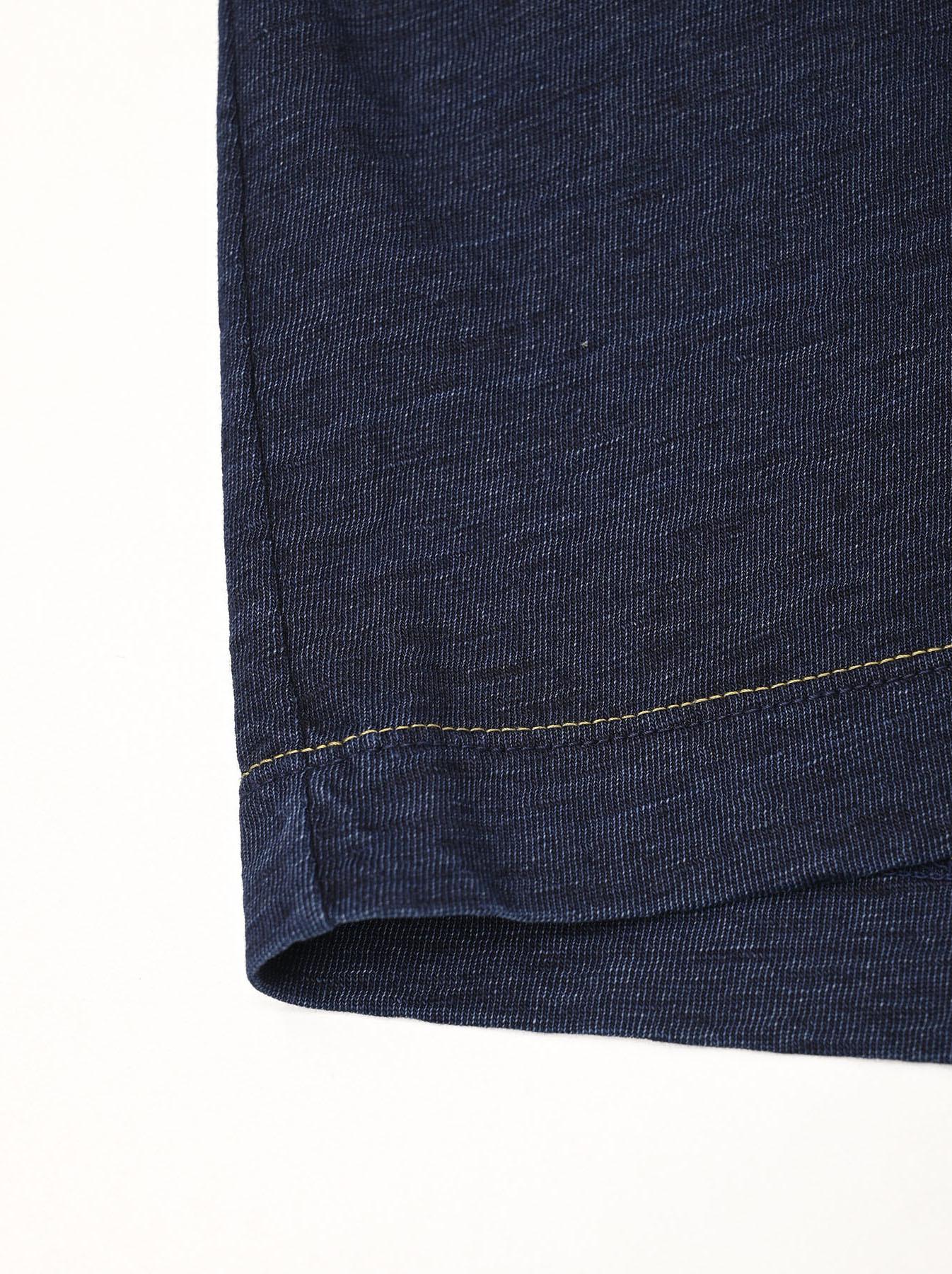 Indigo Zimbabwe Cotton Square T-shirt-10