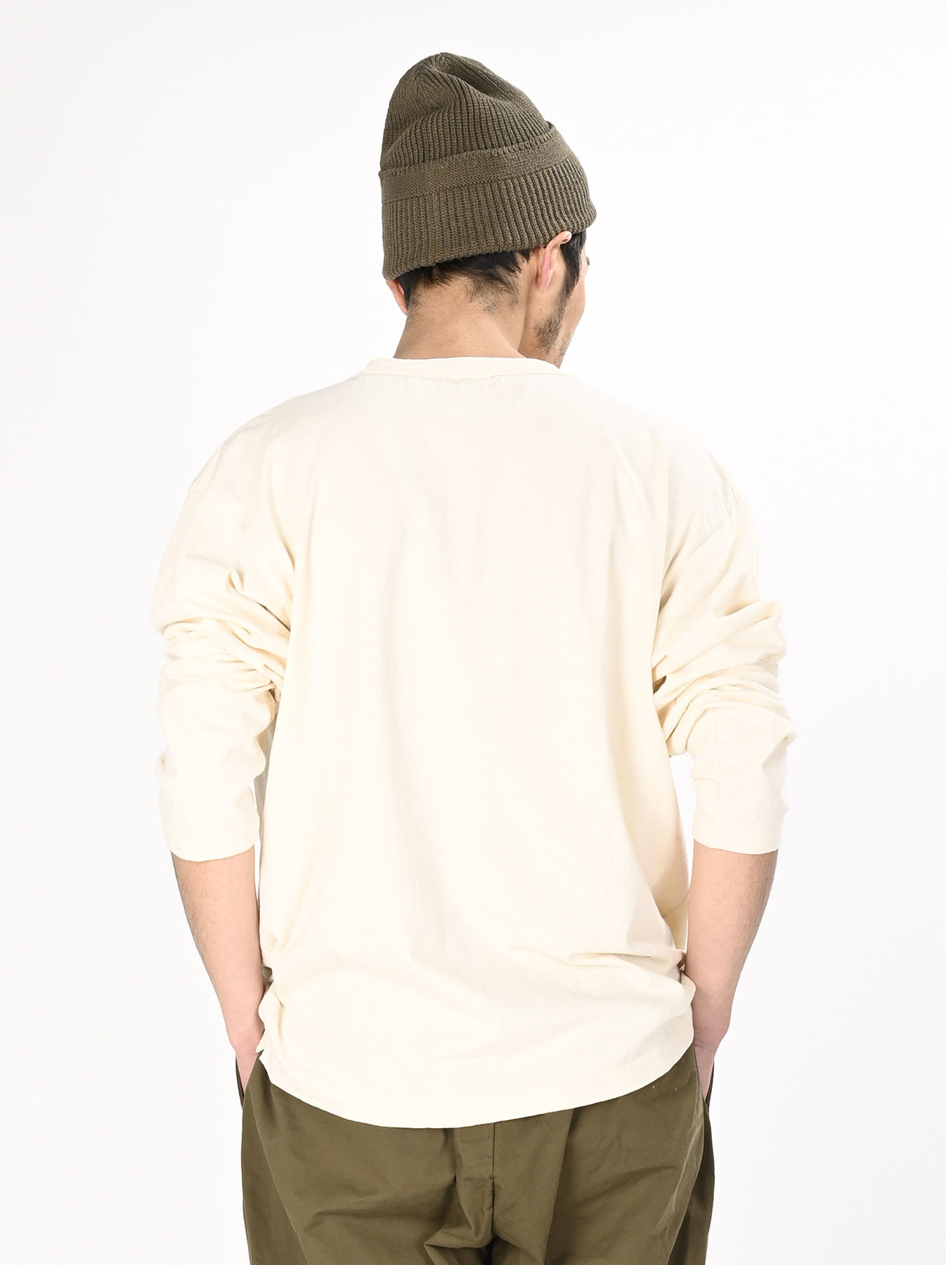 Zimbabwe Cotton 908 Ocean Long-sleeved T-shirt-6