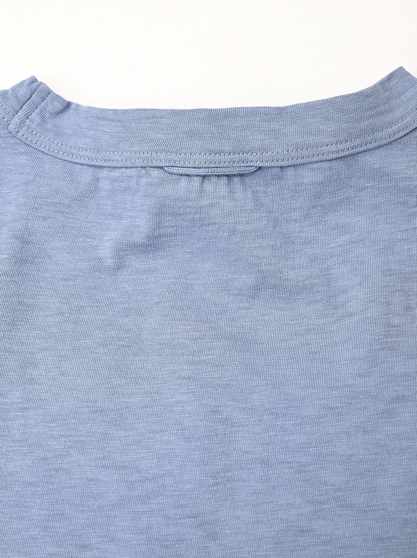 Zimbabwe Cotton 908 Ocean Long-sleeved T-shirt-10
