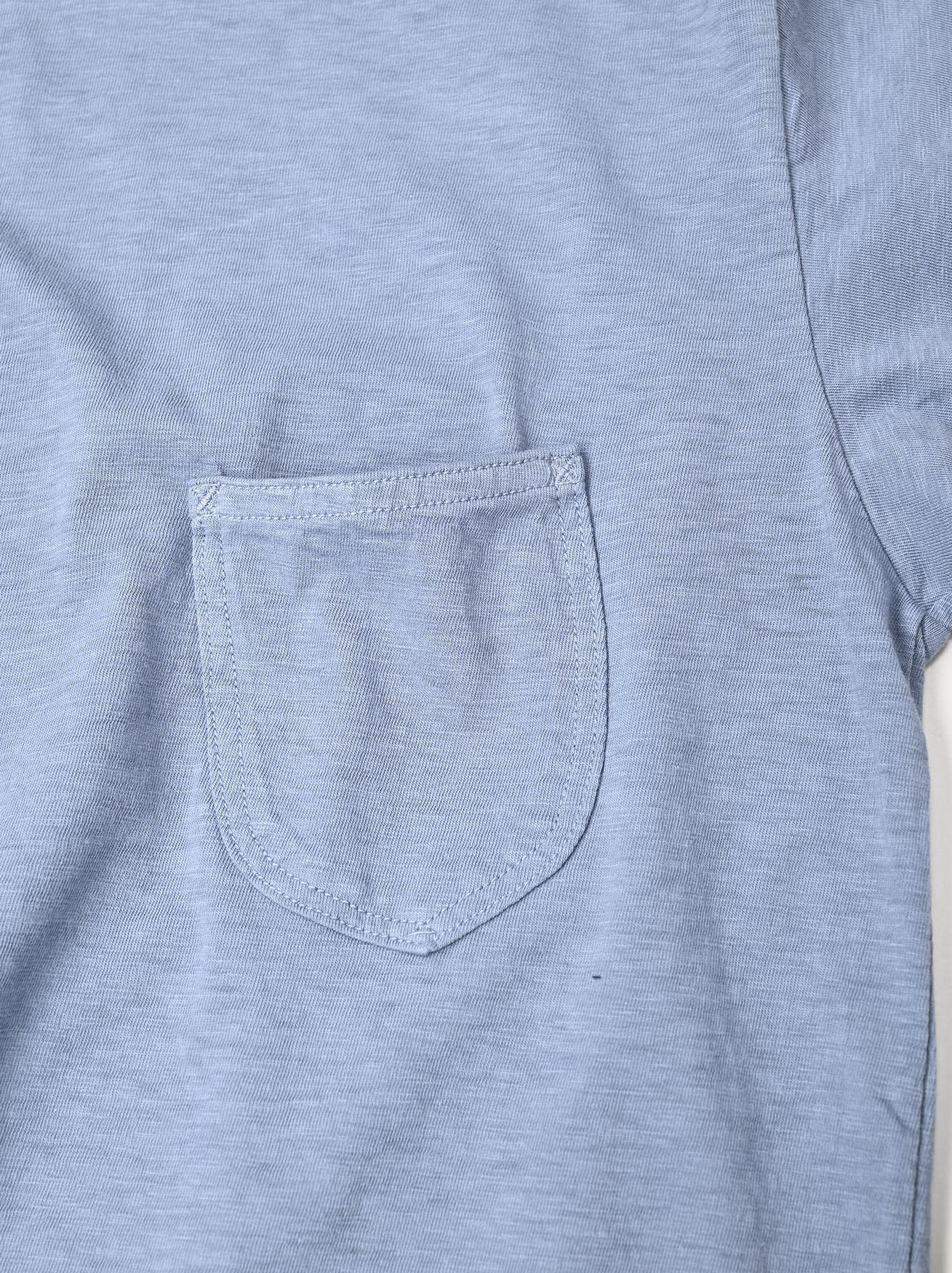Zimbabwe Cotton 908 Ocean Long-sleeved T-shirt-11